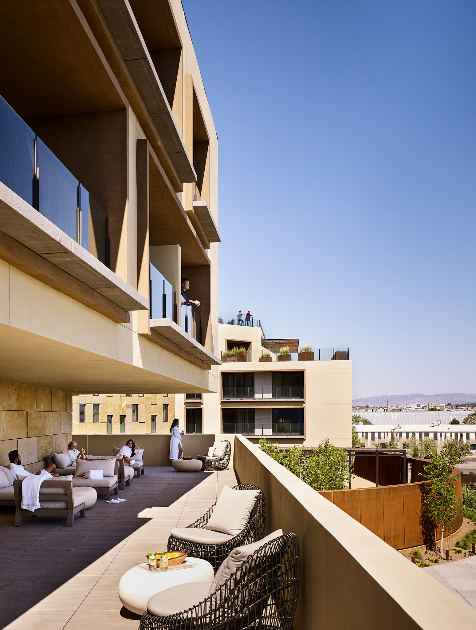 Hotel Chaco  Gensler  Albuquerque, New Mexico     Return to Projects