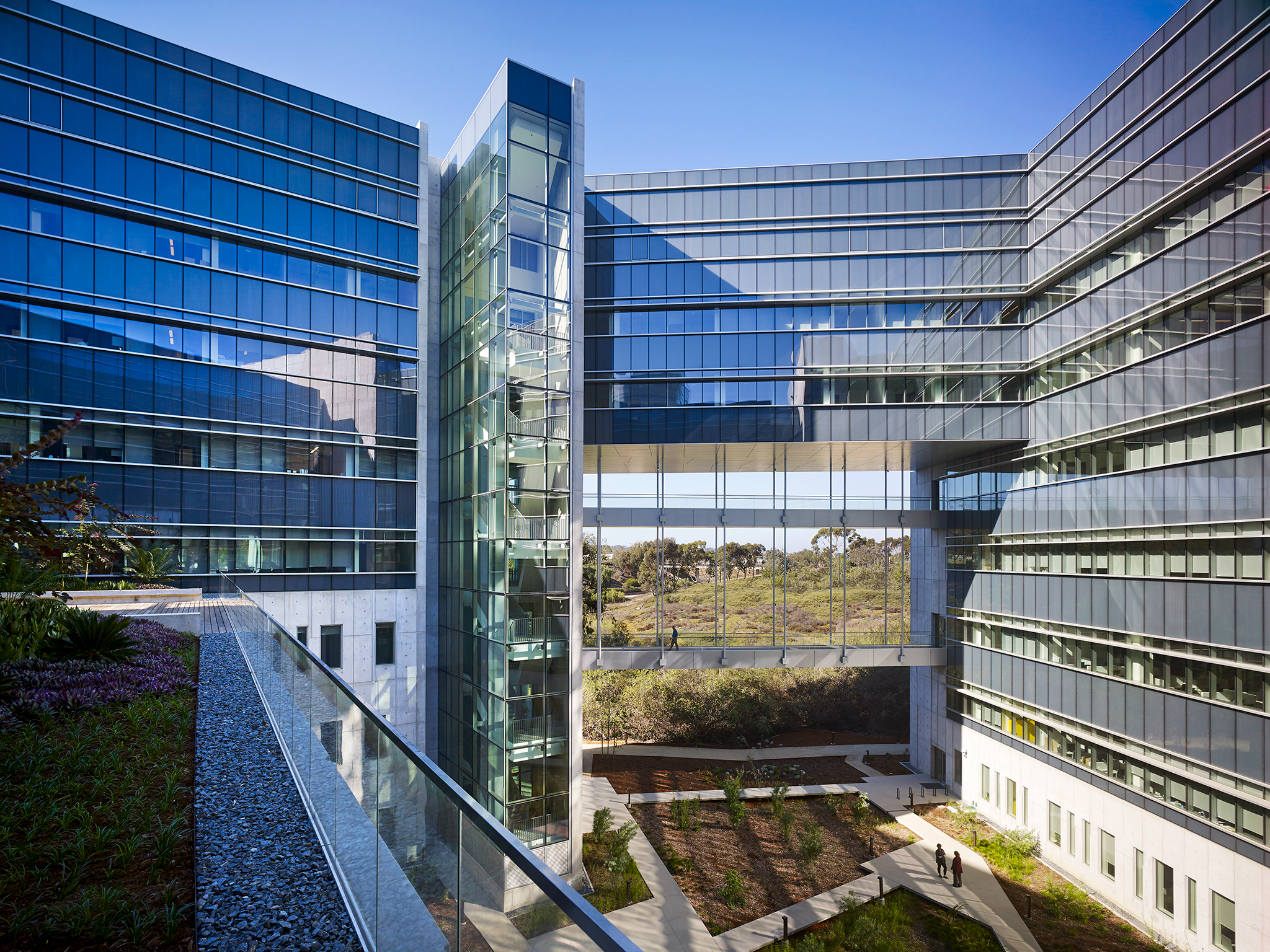 Clinical and Translational Research  University of San Diego  ZGF Architects  La Jolla, California      Return to Projects