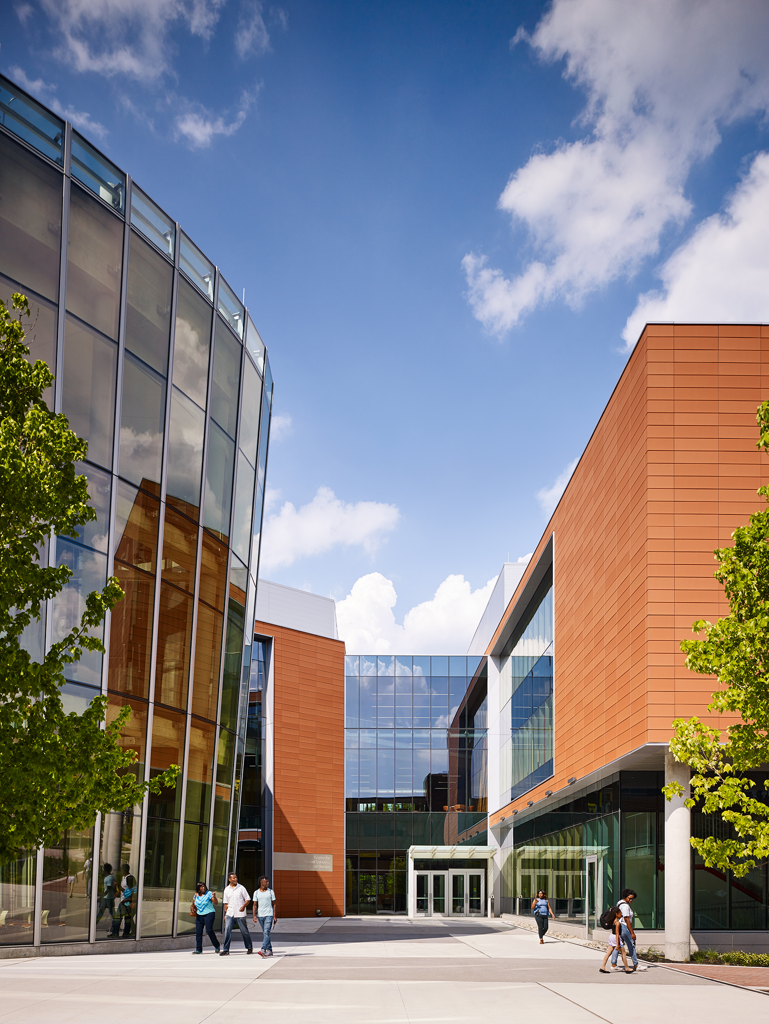 Bowie State University  Center for Natural Sciences, Mathematics + Nursing  Perkins+Will  Bowie, Maryland     Return to Projects