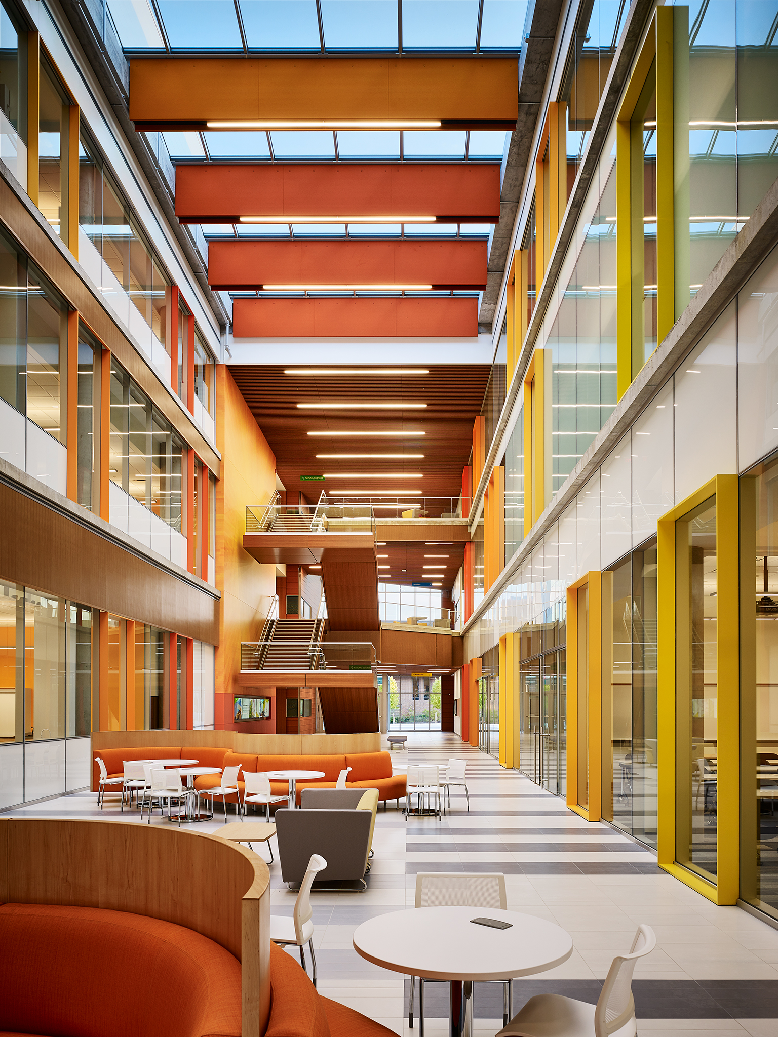 Bowie State University   Center for Natural Sciences, Mathematics + Nursing  Perkins+Will  Bowie, Maryland     View Full Project