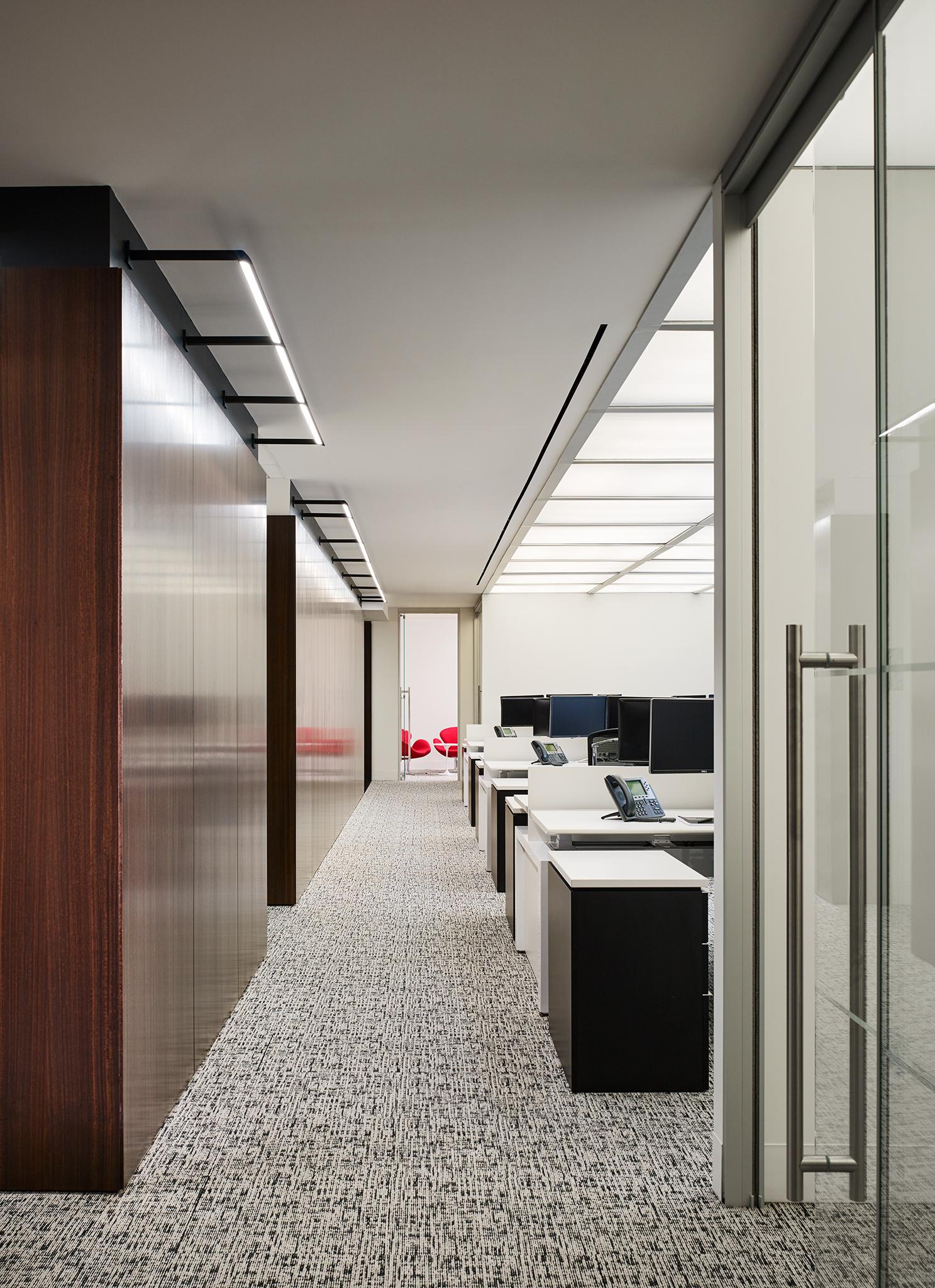 Carlson Capital Office  Staffelbach  New York City, New York     Return to Projects
