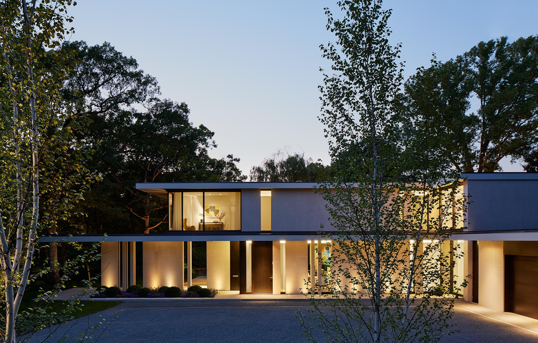 Glencoe Residence  Robbins Architecture  Illinois     Steve Hall