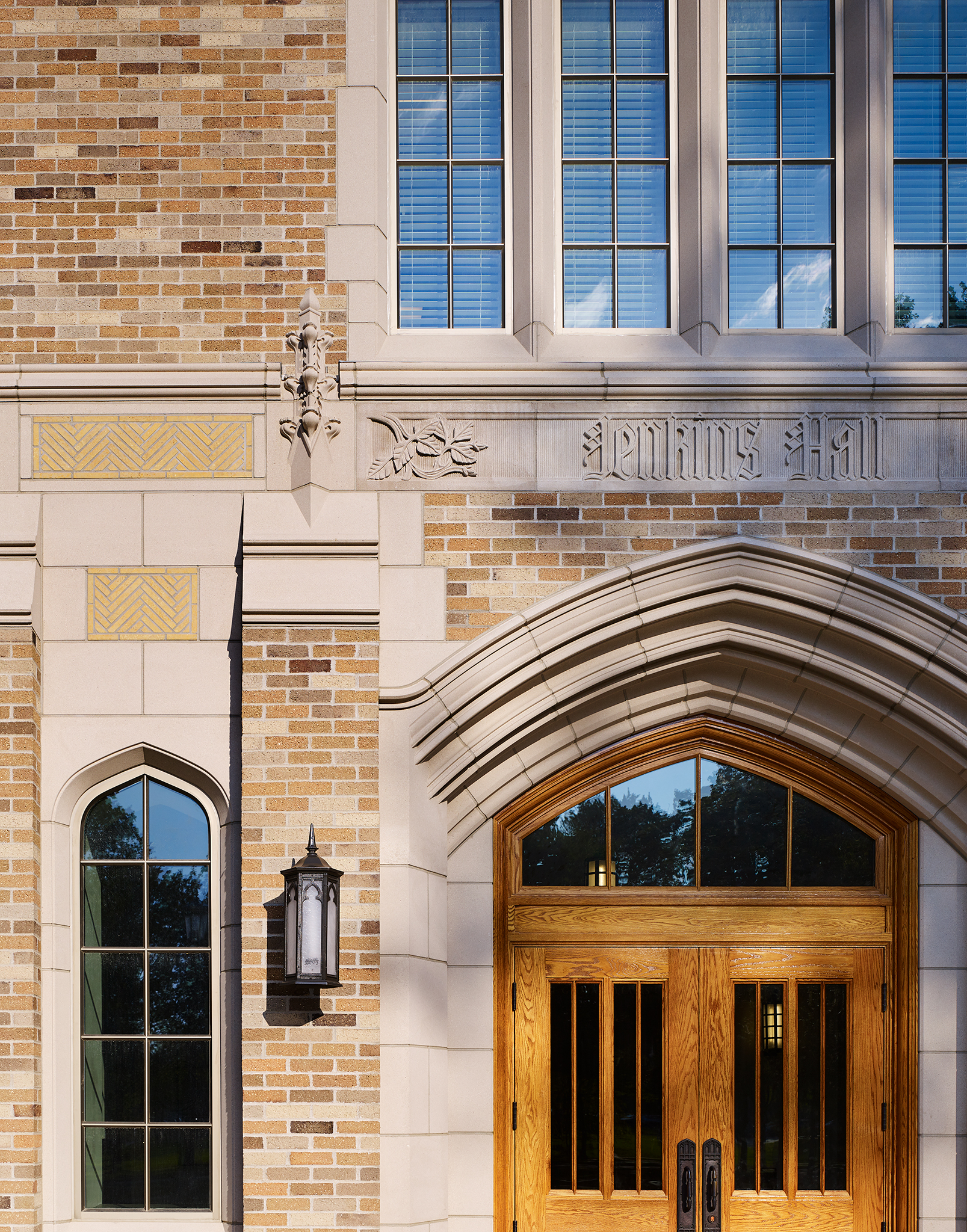 Jenkins and Nanovic Halls, Notre Dame  HBRA Architects  Notre Dame, IN     Return to Projects