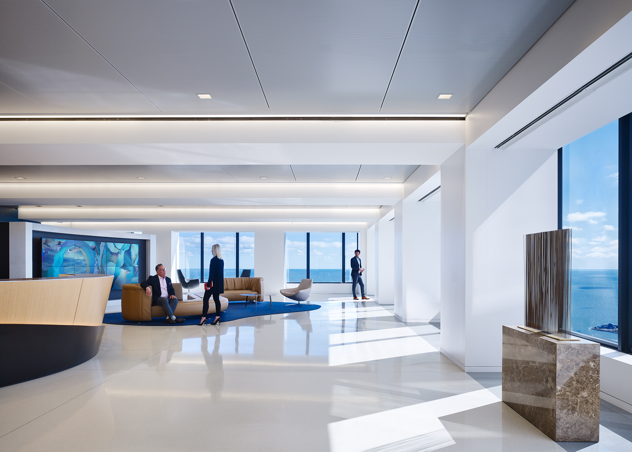 Seyfarth Shaw  Gensler  Chicago, IL      Return to Projects