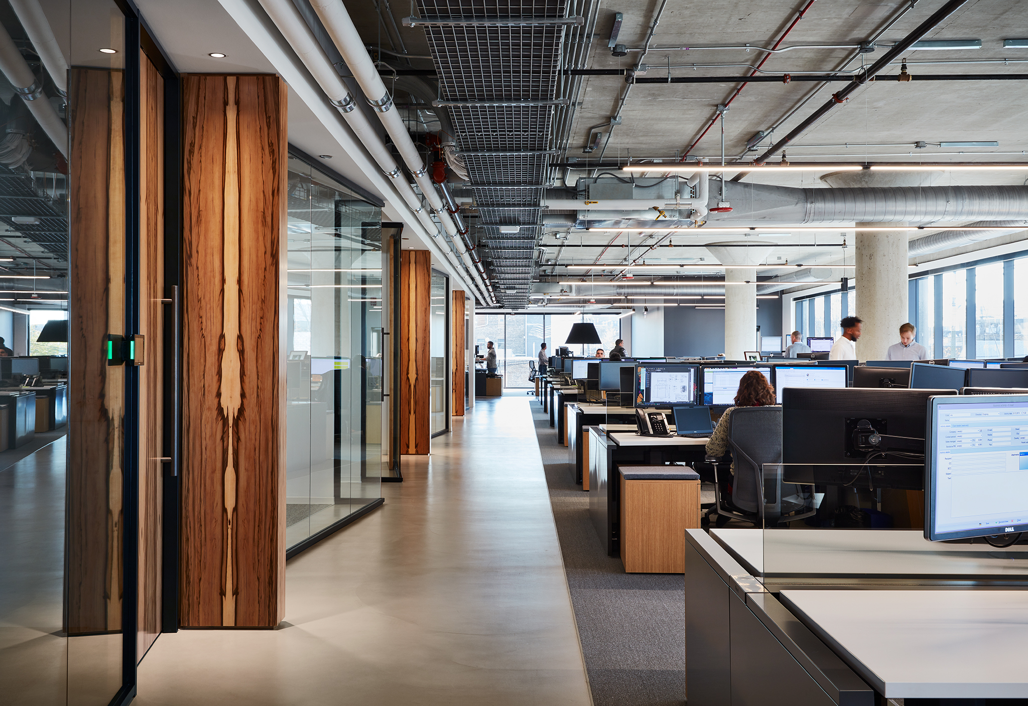 Skender Office  Perkins + Will  Chicago, IL      Return to Projects