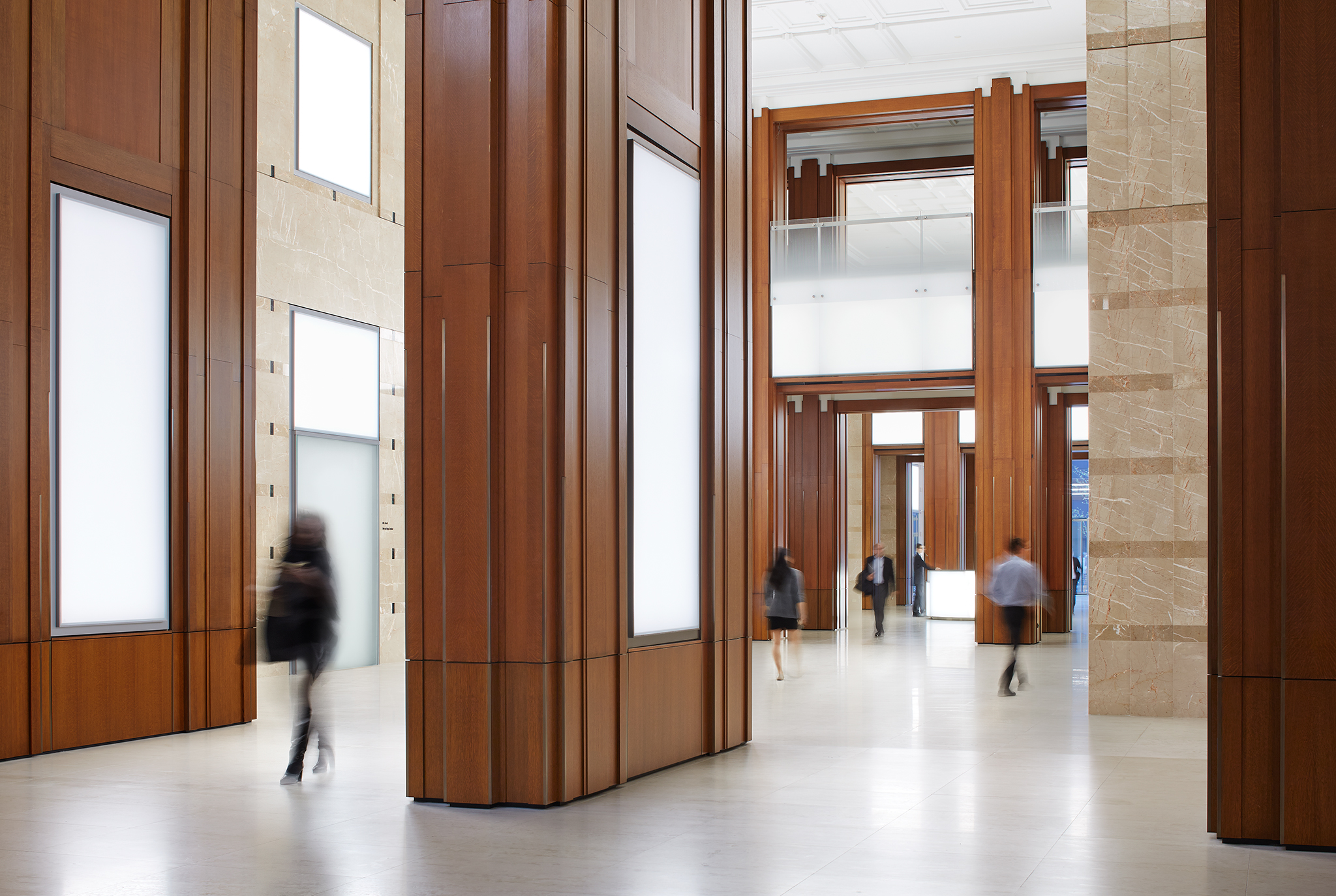 The Franklin Lobby Renovation  Krueck + Sexton Architects  Chicago, IL      Return to Projects