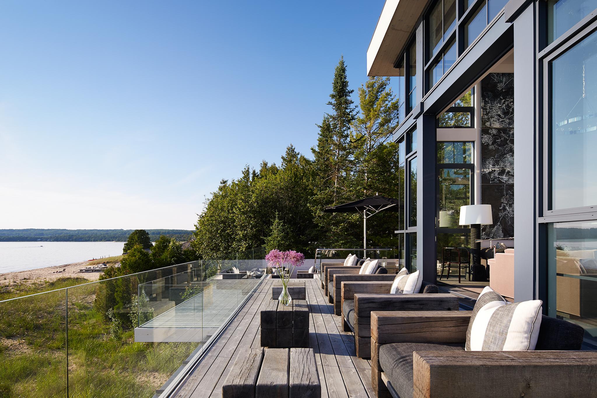 Cottage 52  von Weise Associates  Michigan     Return to Projects
