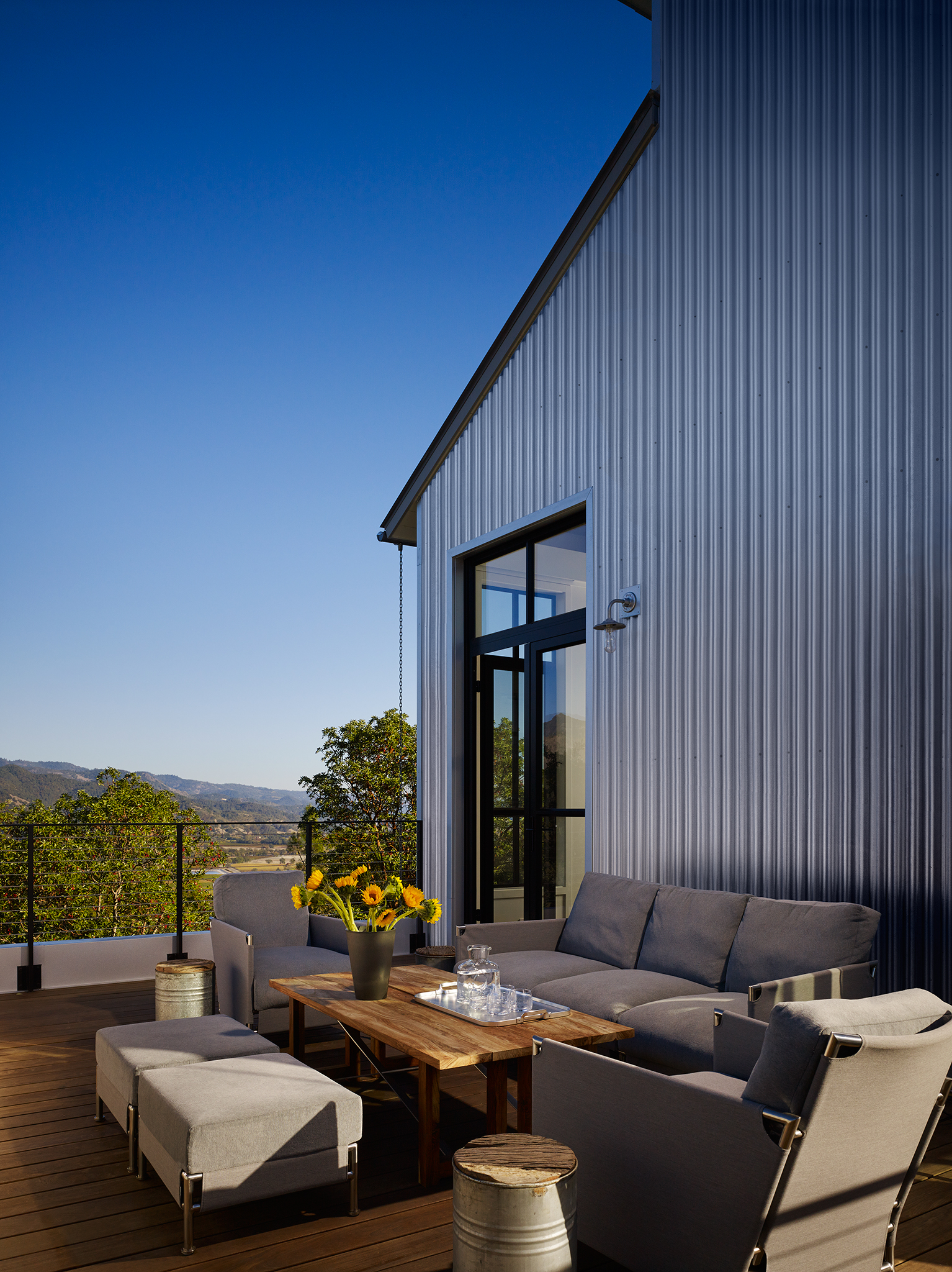 Napa Valley Home  Kathryn Quinn Architects  Calistoga, California      Return to Projects