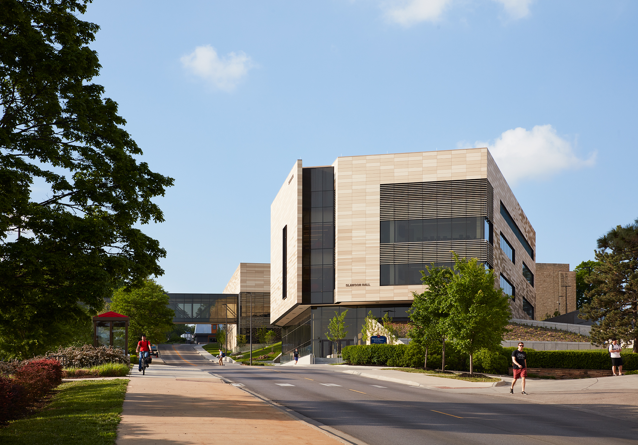 University of Kansas  Earth, Energy & Environment Center  Gould Evans with Cannon Design  Lawrence, KS     Return to Projects
