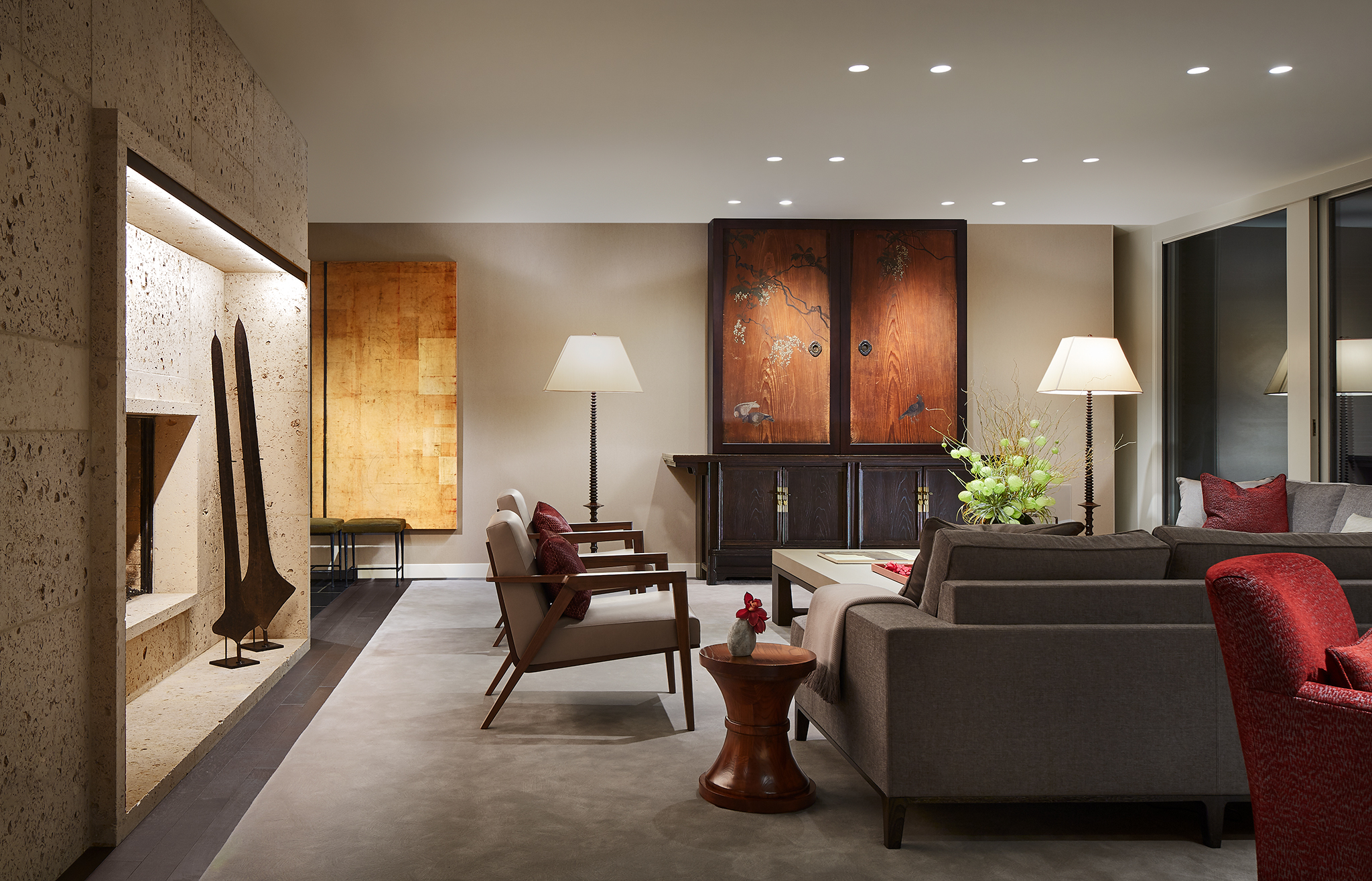 Mid-Century Renovation  Robbins Architecture  Glencoe, IL     Return to Projects