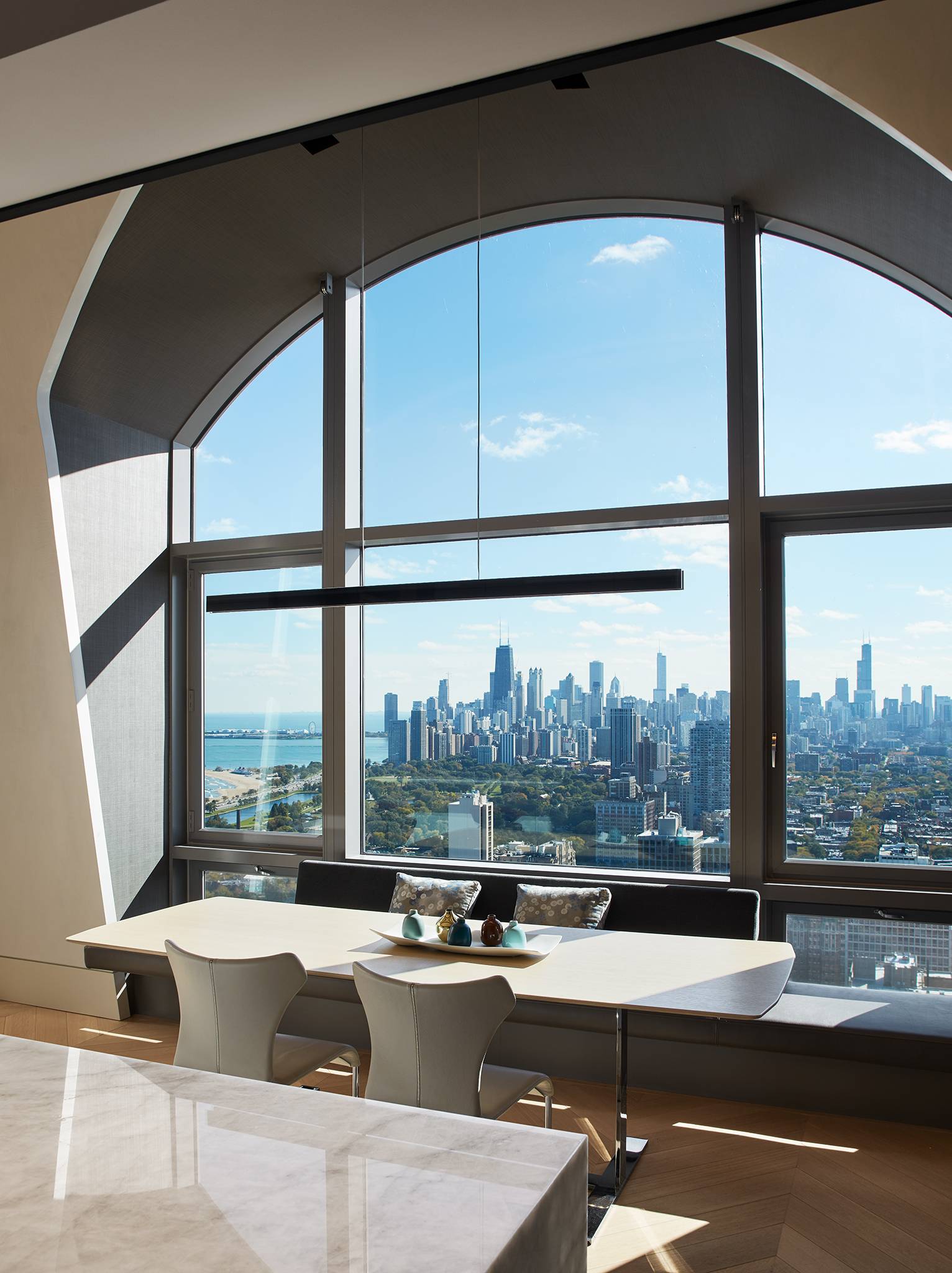 Chicago Penthouse  Wheeler Kearns  Chicago, IL     Return to Projects