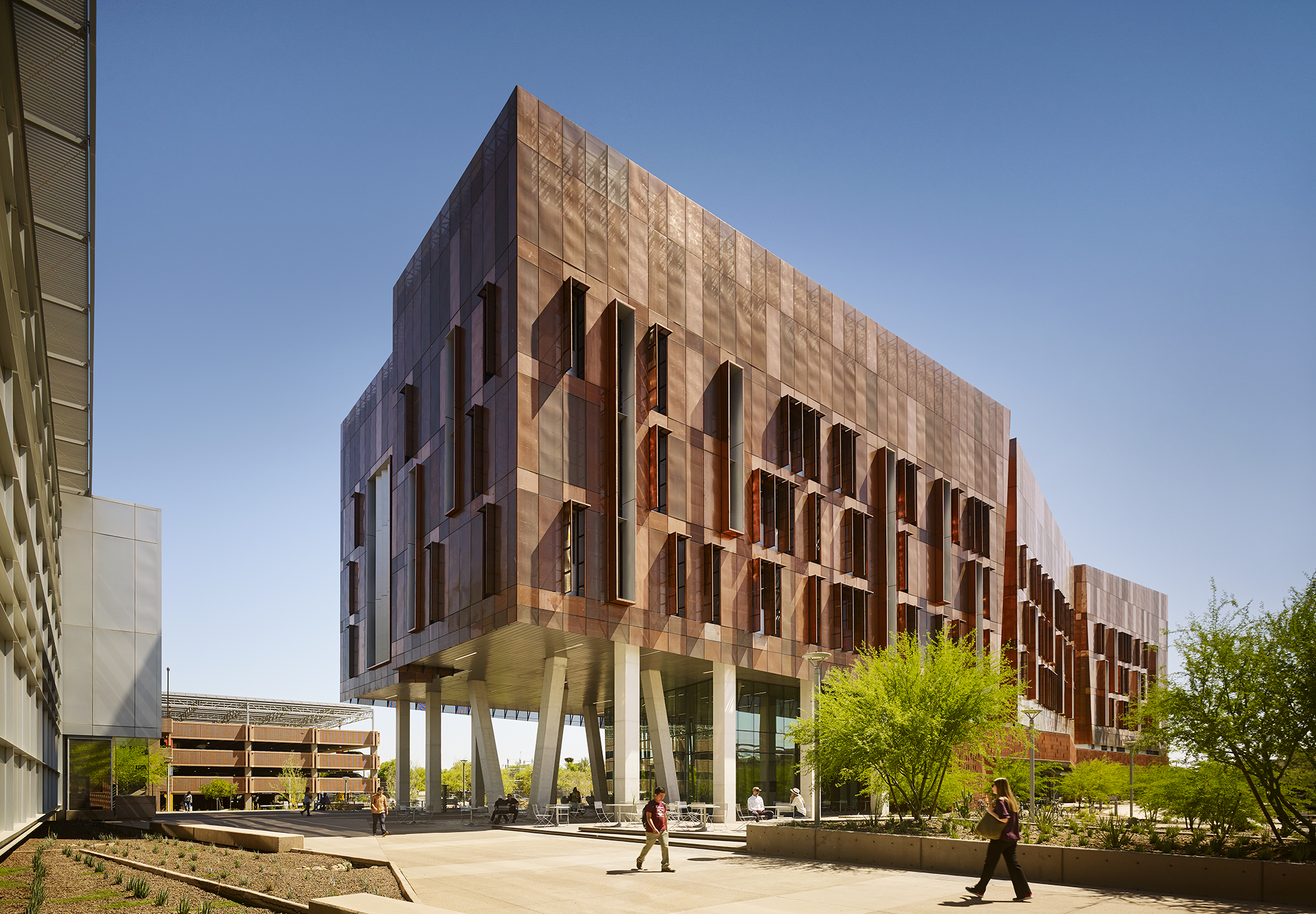"AWARDS  ENR Best of the Best Awards: Best of Higher Education/Research    PUBLICATIONS    Arch Daily   ,  November   2018: ""Biodesign Institute C Project Profile""      Arizona State University, BioDesign Institute  ZGF Architects  La Jolla, CA     Nick Merrick"