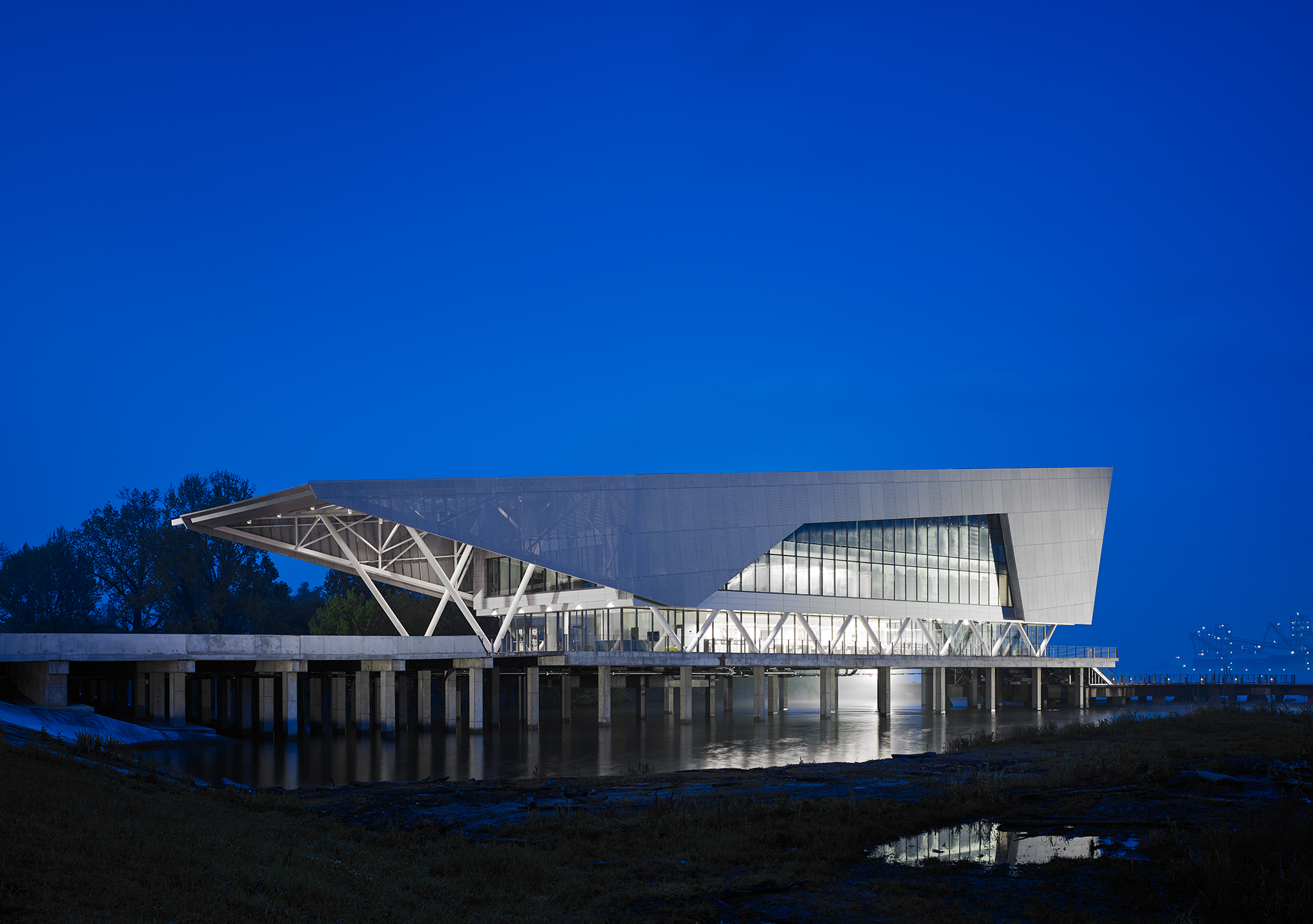 The Center for Coastal and Deltaic Solutions  Perkins+Will  Baton Rouge, LA     View Full Project
