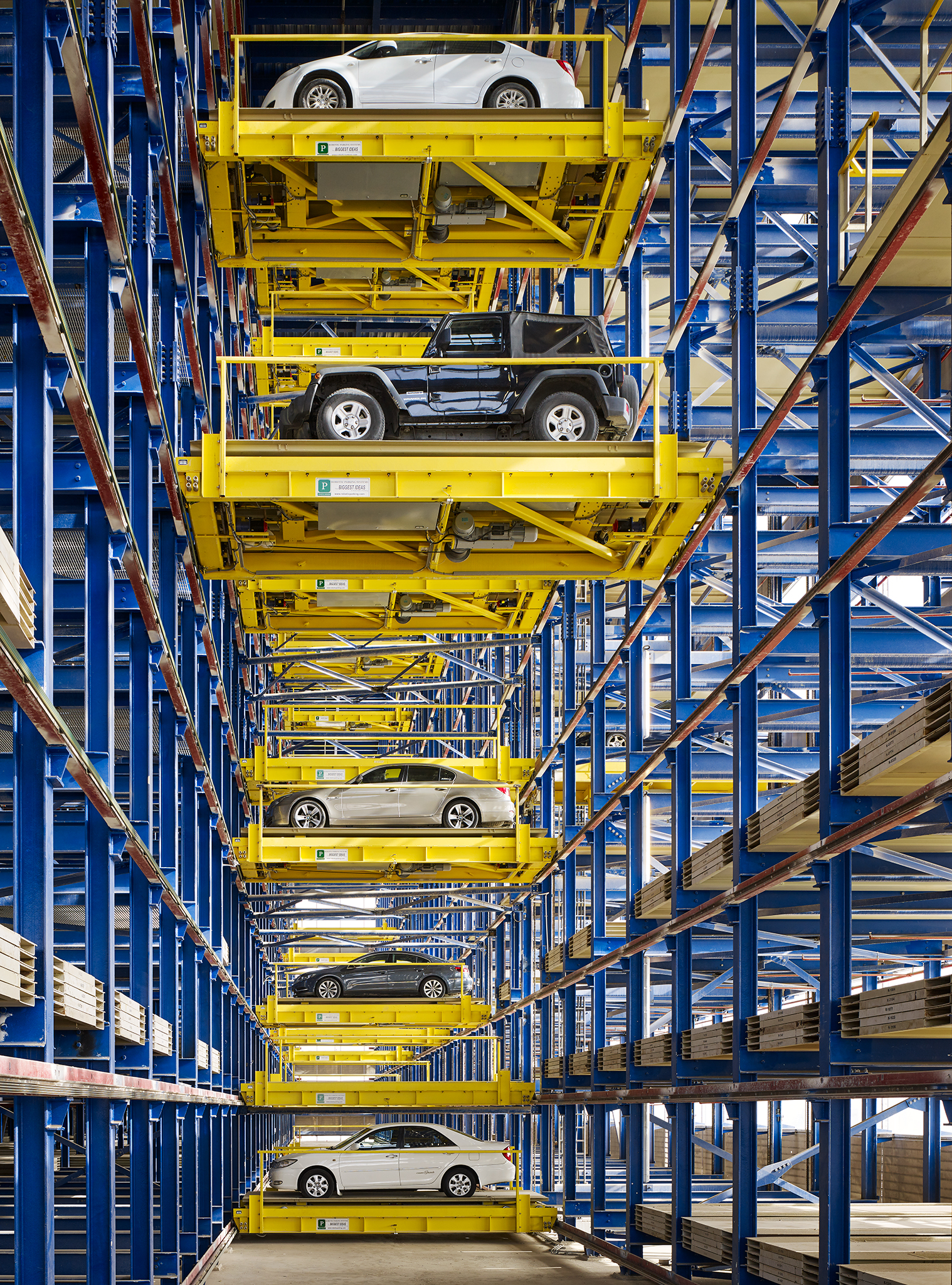 Jahra Courts Parking Garage  PACE + Fentress  Kuwait City, Kuwait