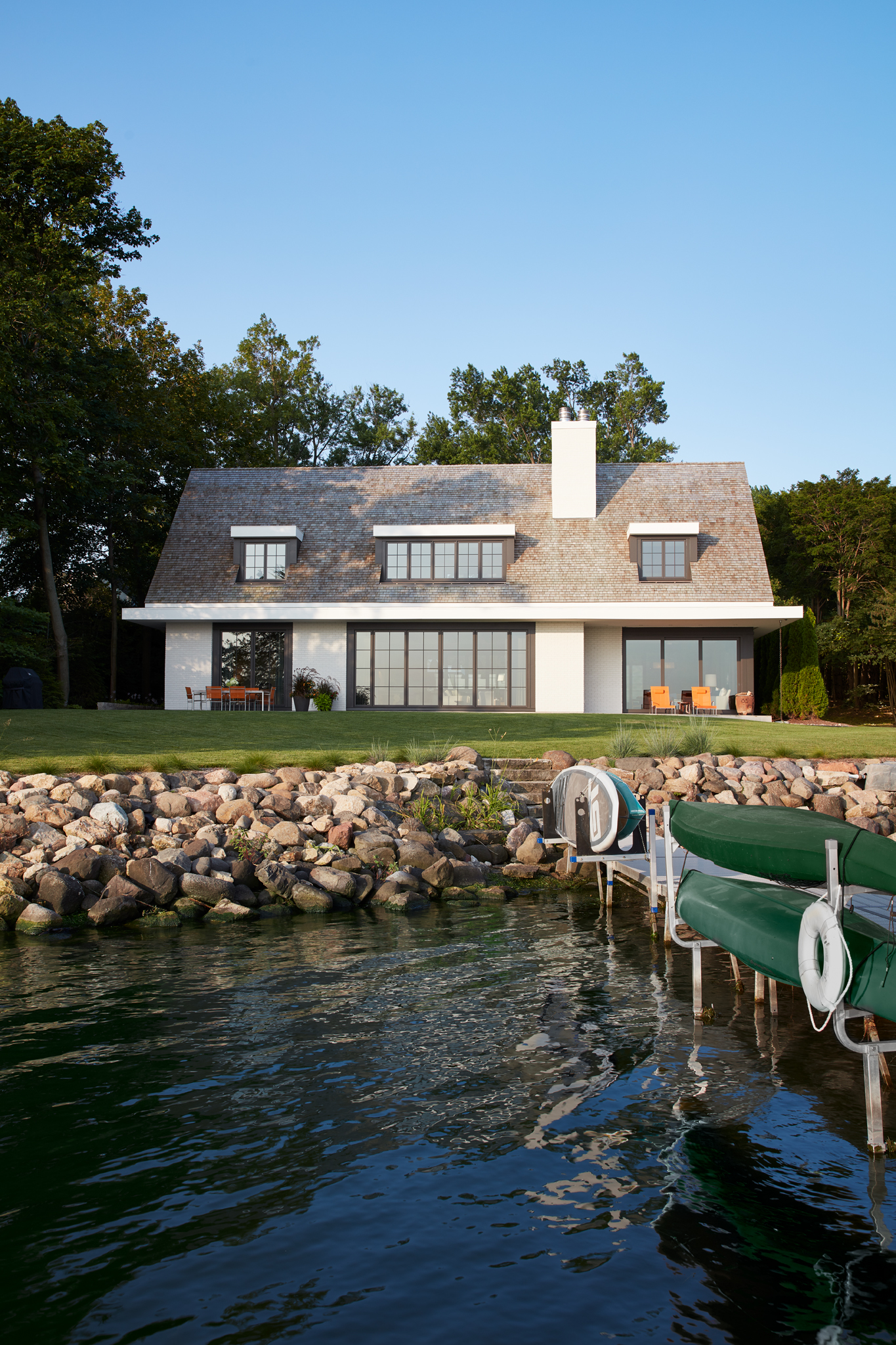 Lake Mendota Retreat  Robbins Architecture  Madison, WI     Return to Projects