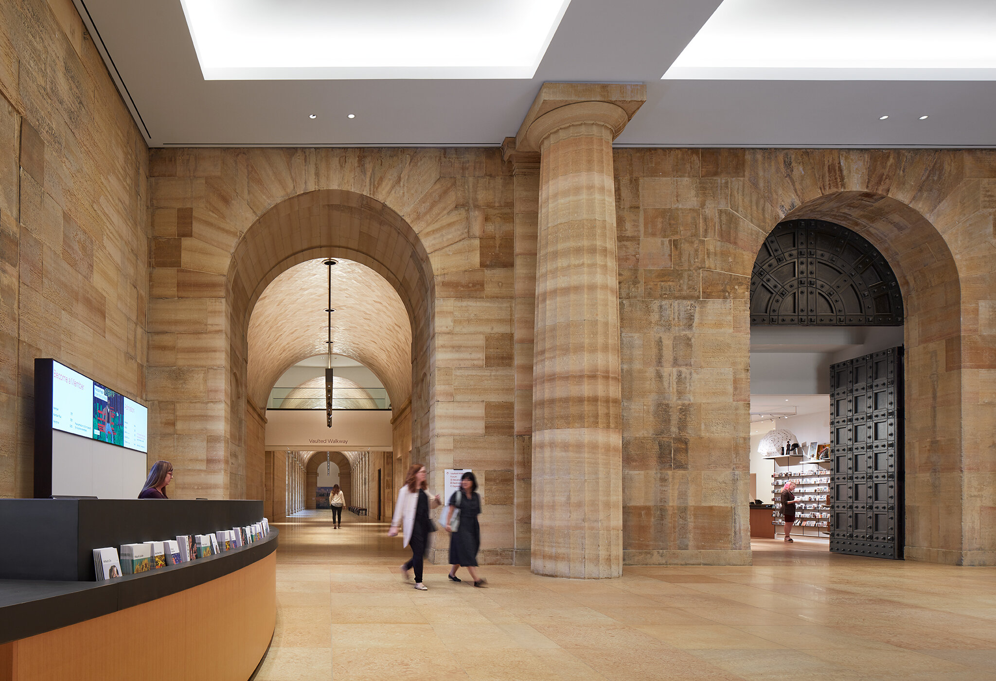 The Philadelphia Museum of Art  Renovation Architect: Frank Gehry Partners, LLP  Philadelphia, PA     Steve Hall