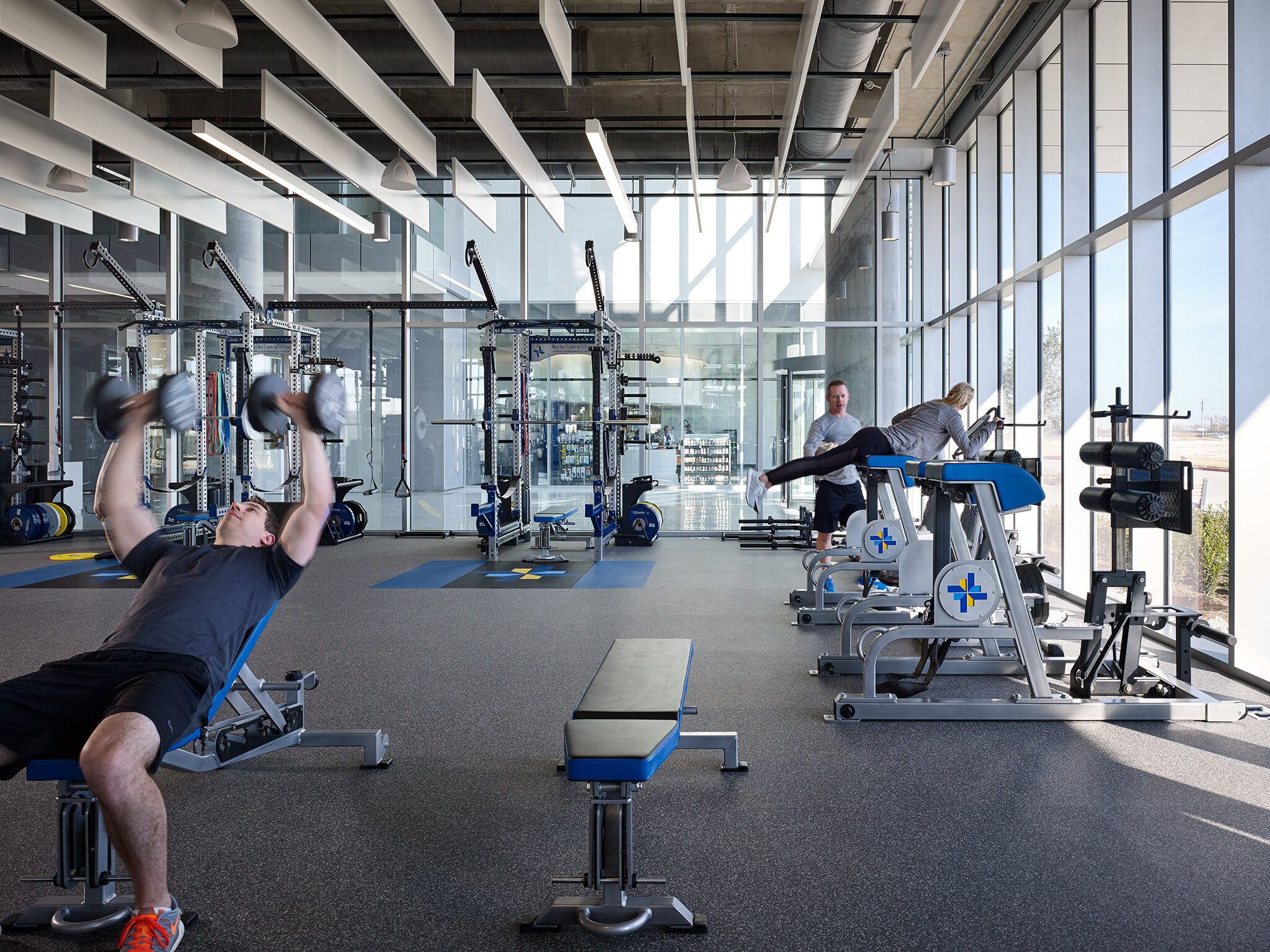 AWARDS  Honor Award, AIA Dallas, 2019  Healthcare Environment Award, Health and Wellness Facility, Contract Magazine, 2019    Baylor Scott & White Sports Therapy & Research at The Star  Perkins+Will  Frisco, Texas     Nick Merrick