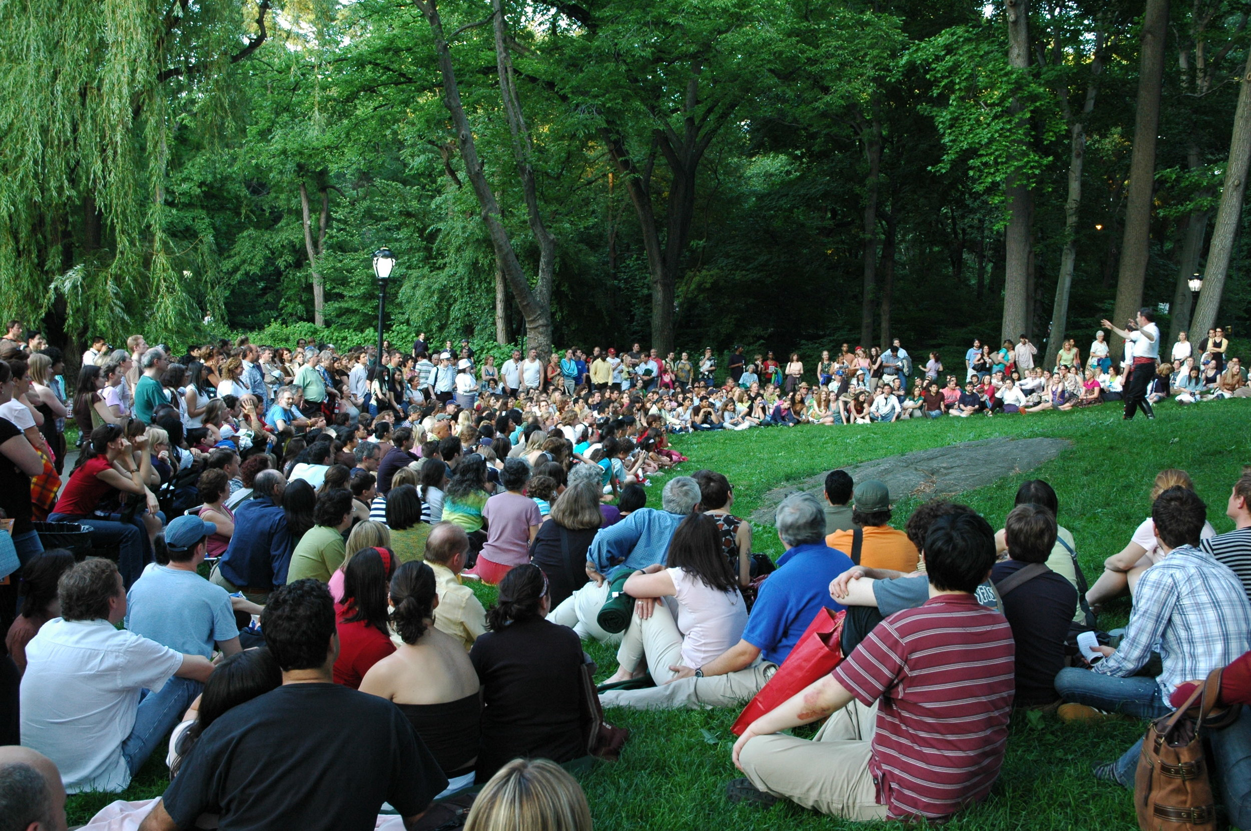 New York Classical Theatre free Shakespeare in the park Love's Labours Lost
