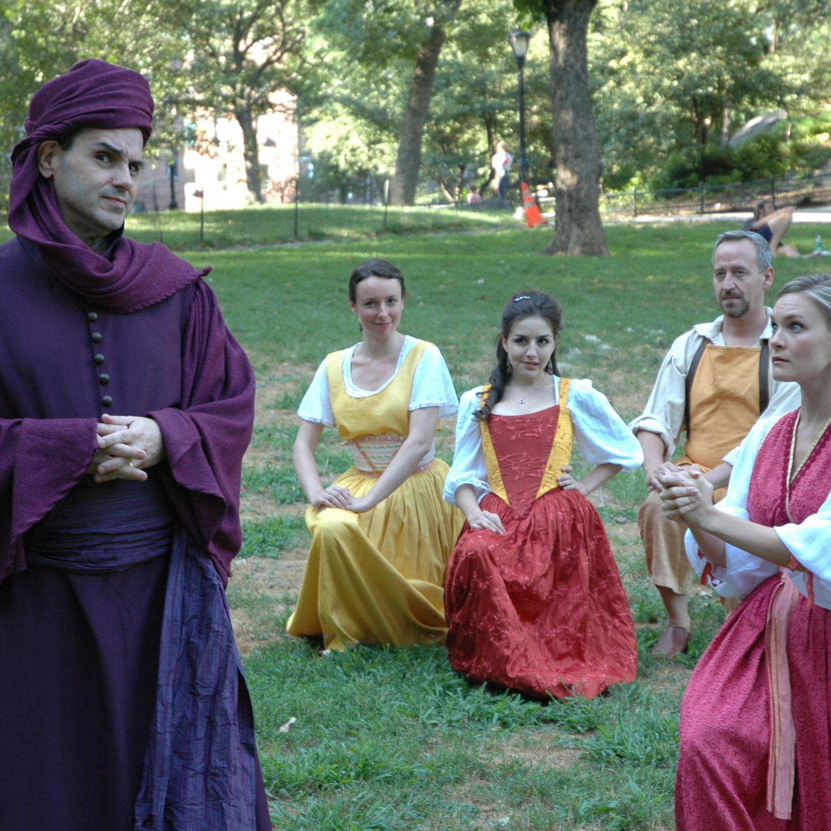 New York Classical Theatre free Shakespeare in the park Comedy of Errors