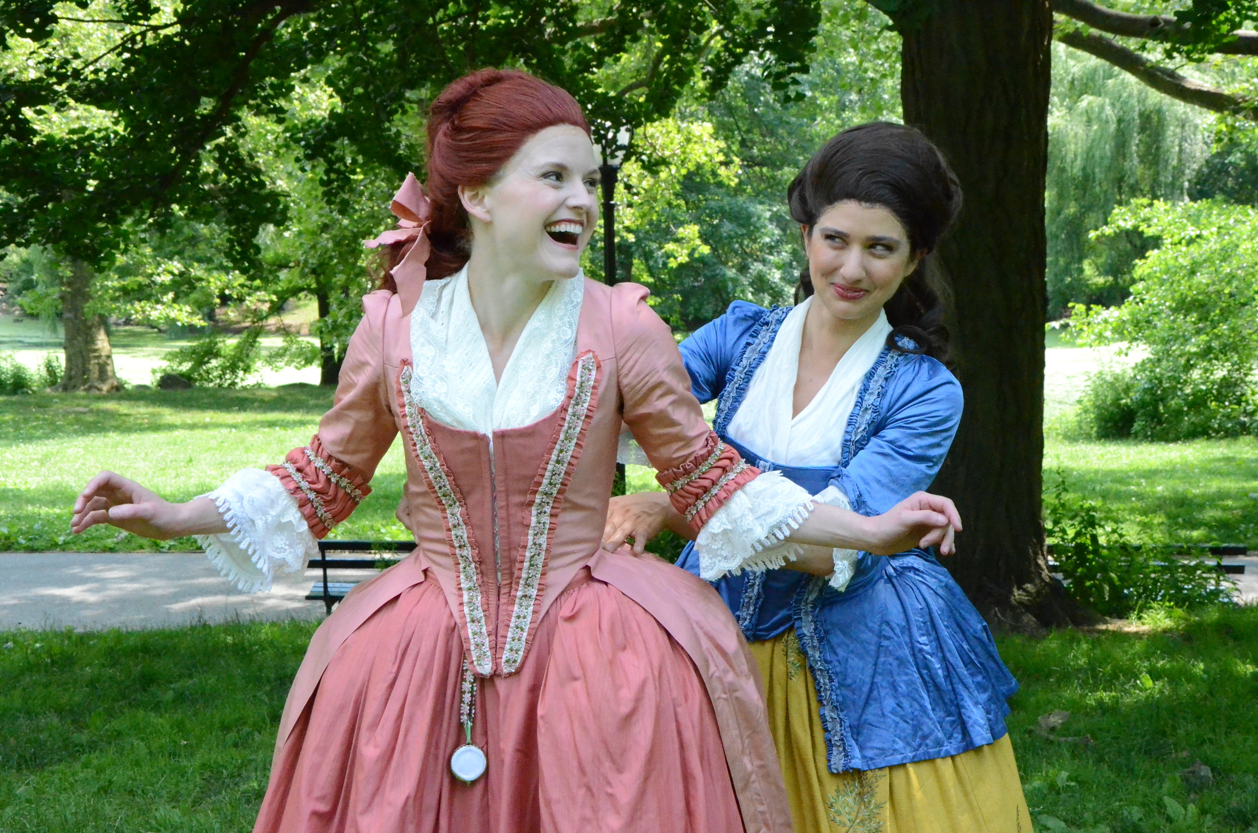 New York Classical free theatre in the park The Rivals Richard Brinsley Sheridan Mrs Malaprop
