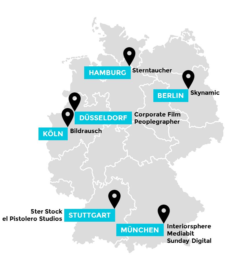 72 HOURS Videoproduktionen in ganz Deutschland