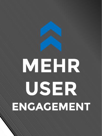 Videos sorgen für User Engagement