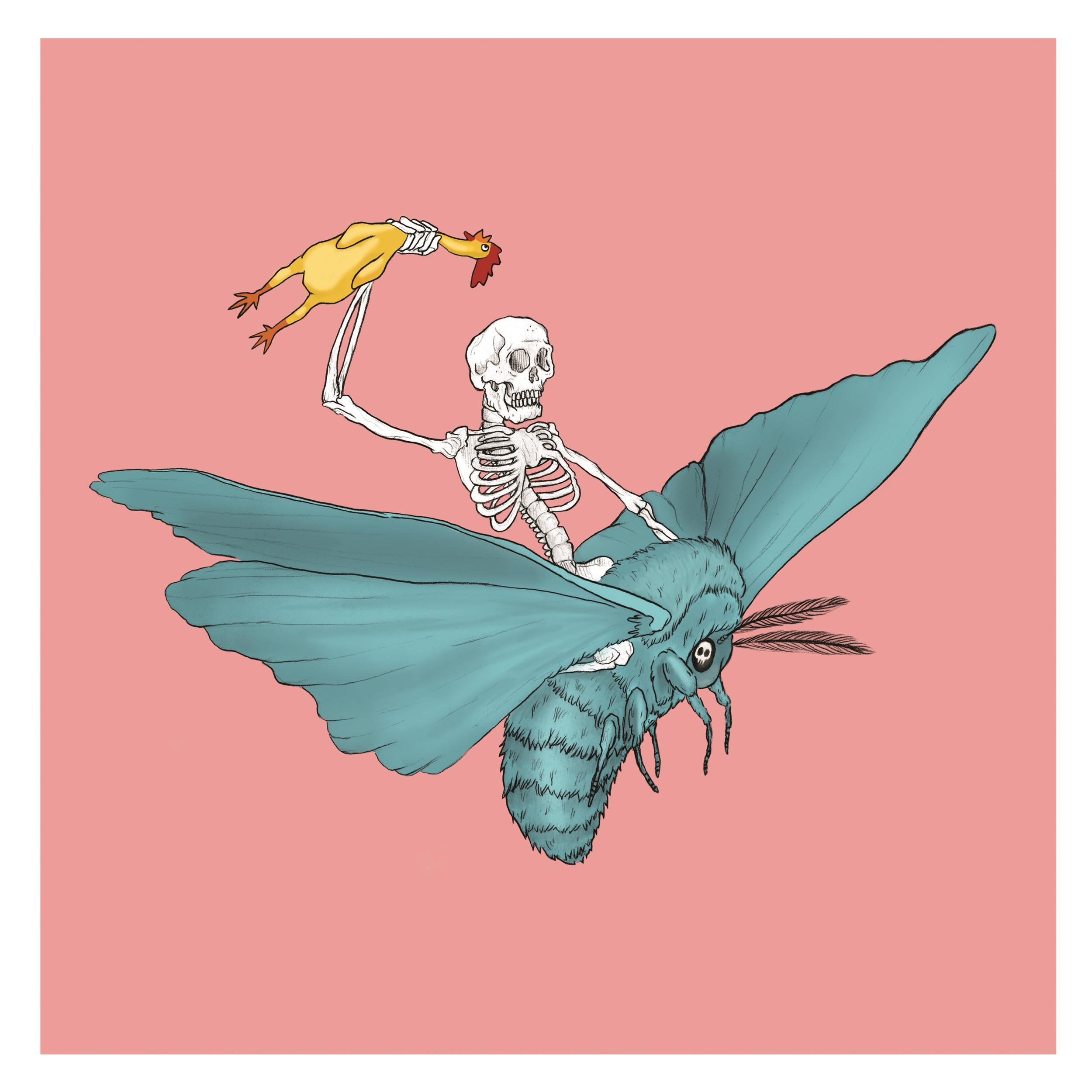 """""""Flying Skeleton"""" 2016"""
