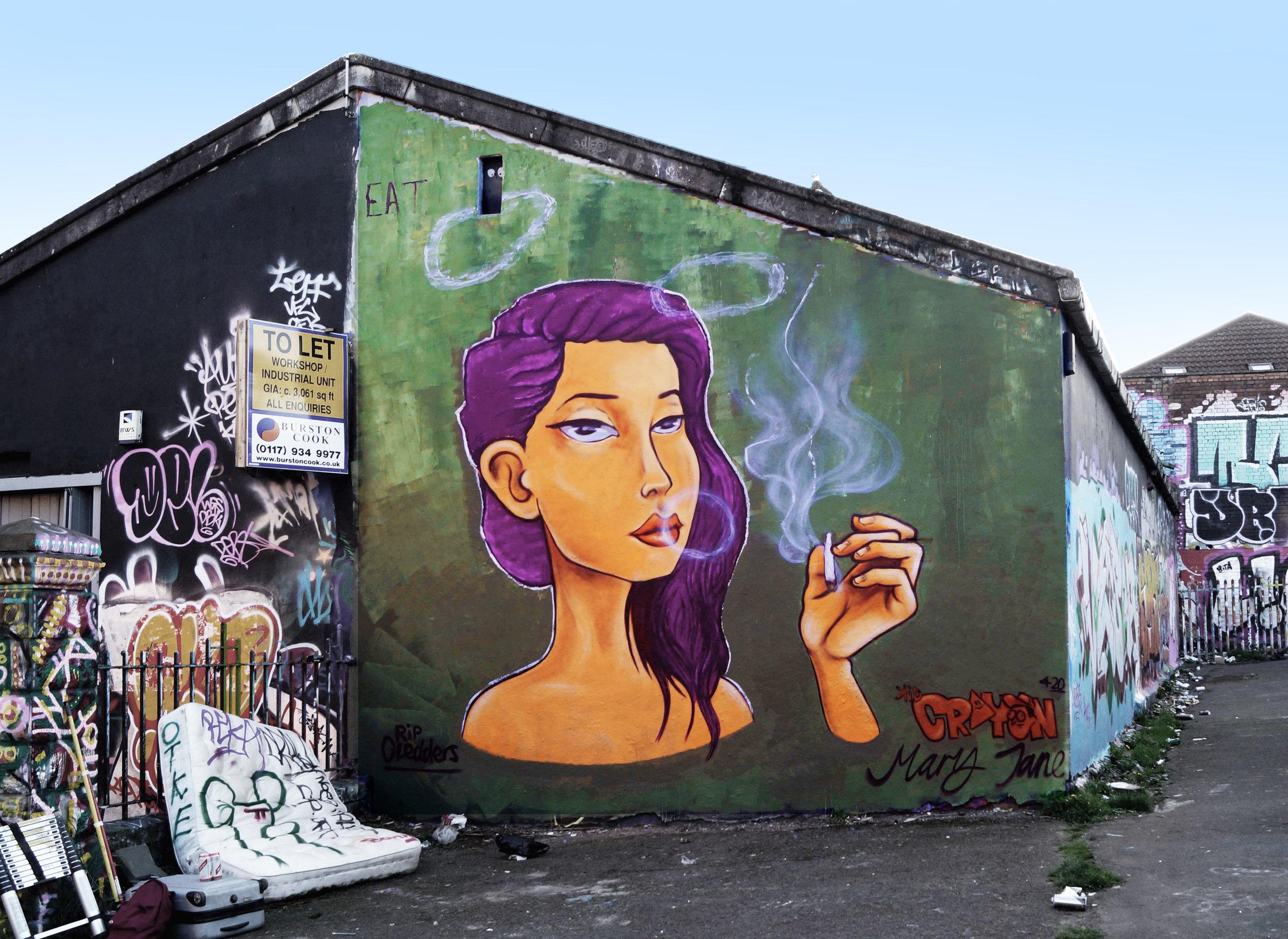420 mural