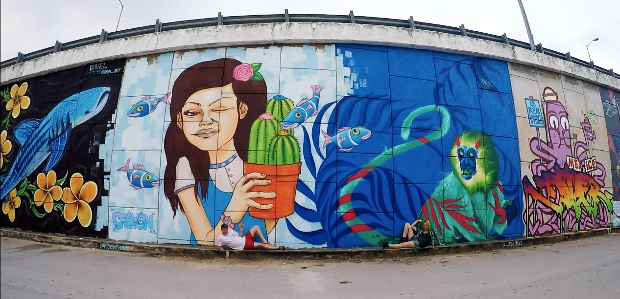 Akumal Street Art festival