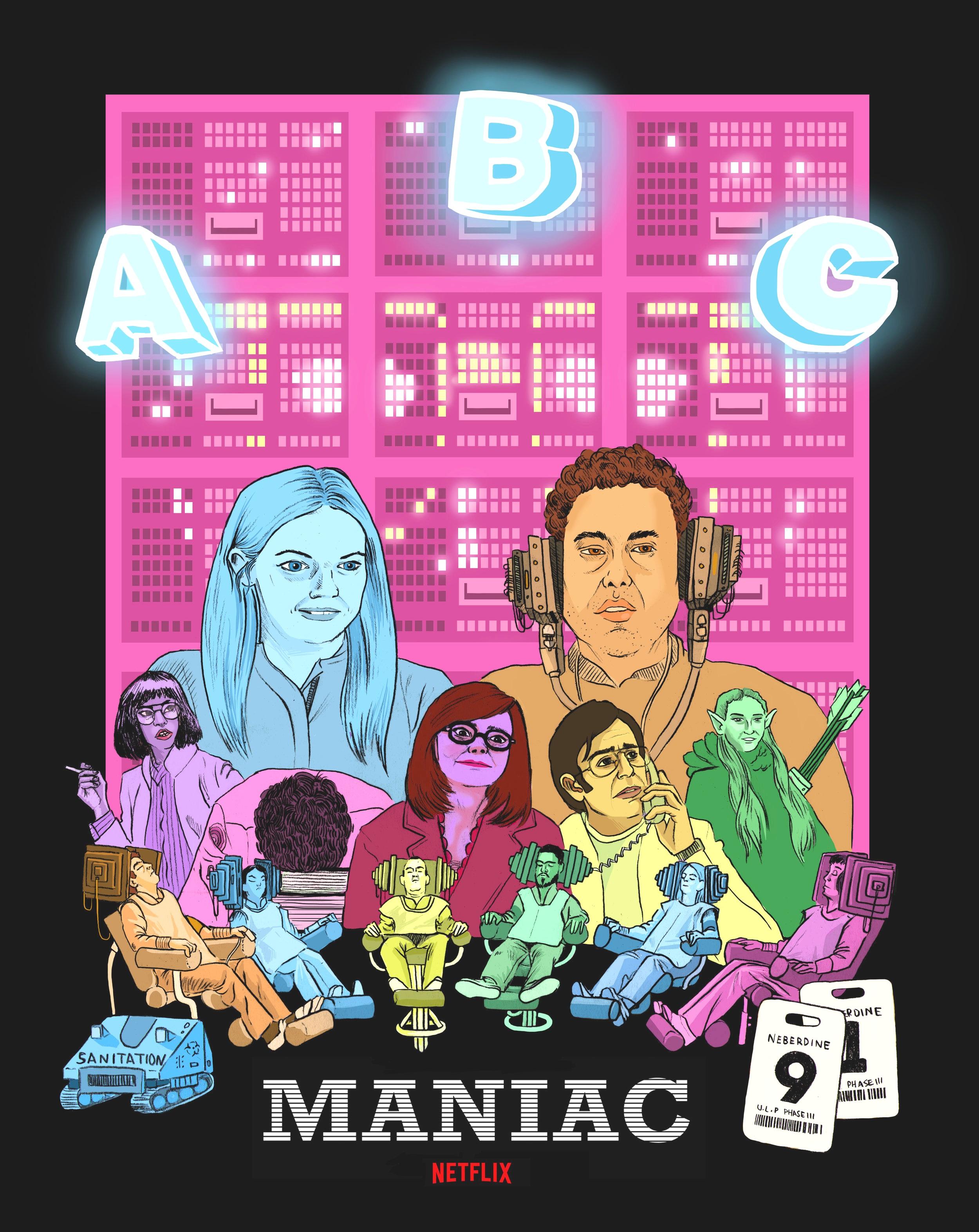 Maniac Poster 2019