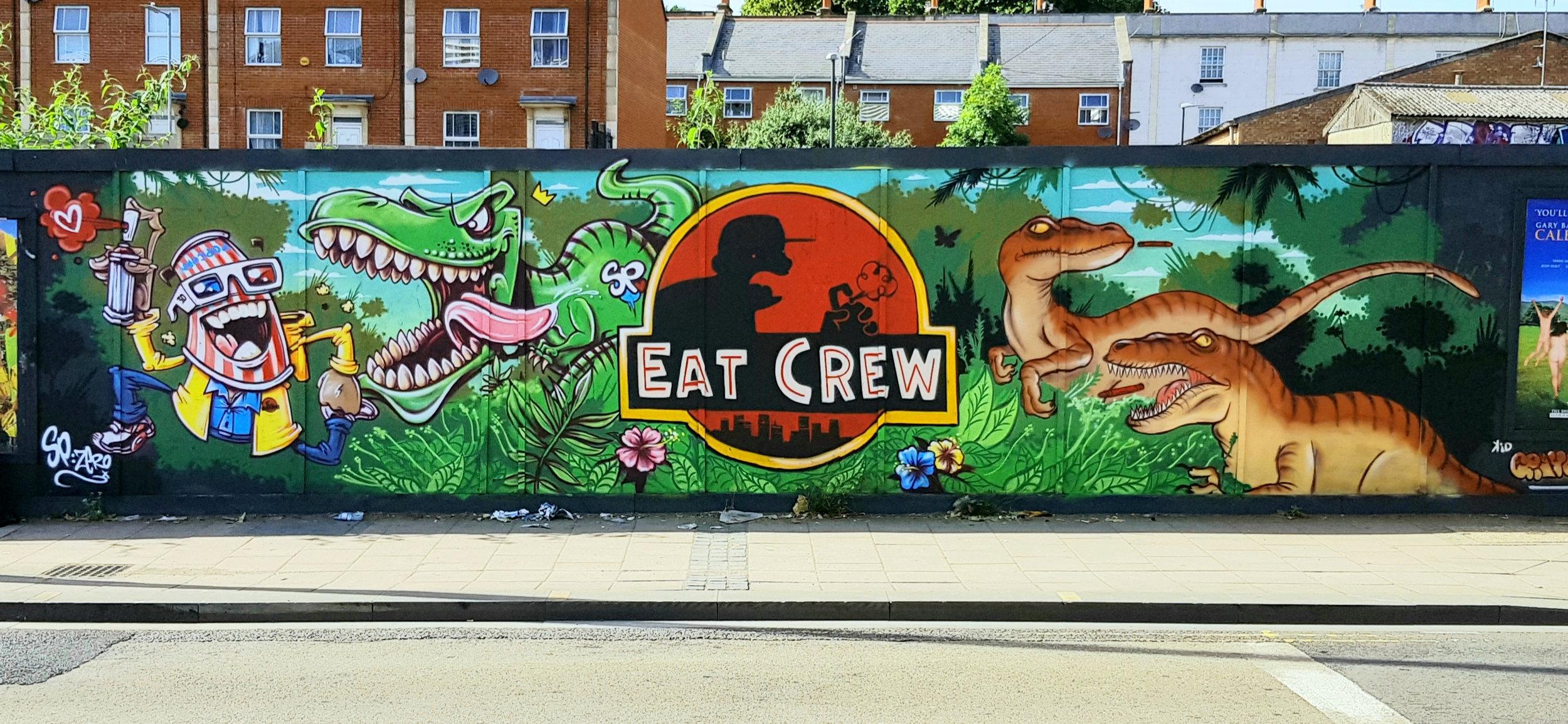 Jurassic Park Mural