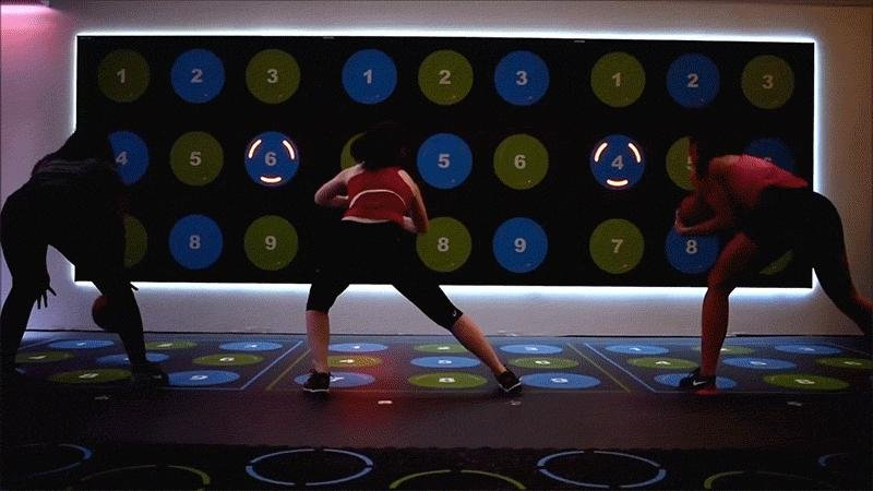 Interactive gym in New York