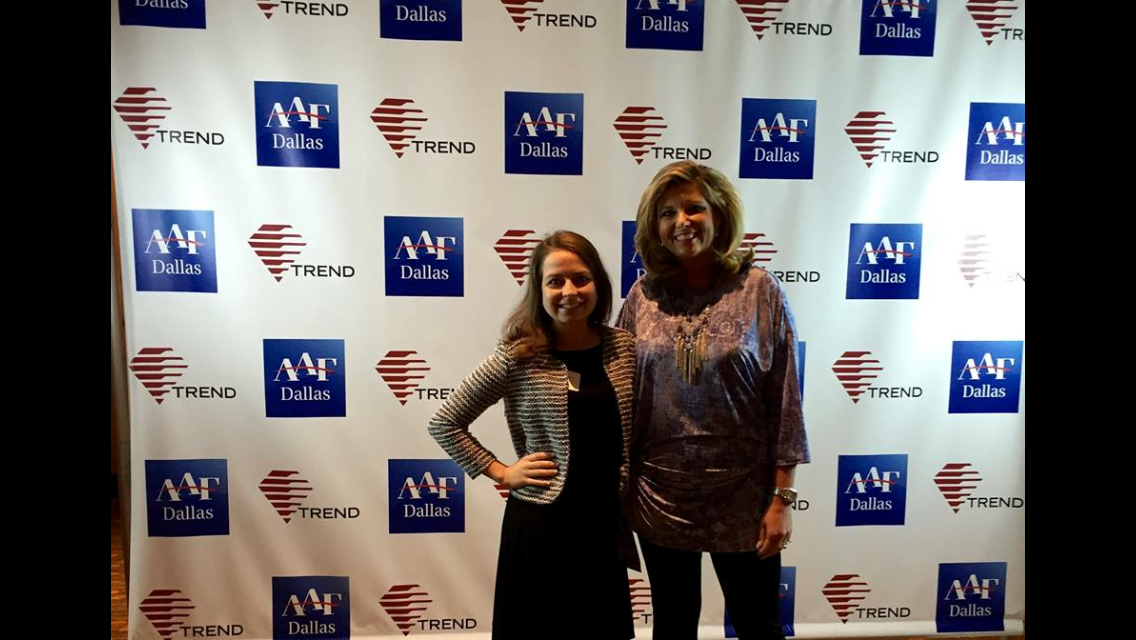 Katie Mudd & Jo Trizila at AAF's Magazine Day