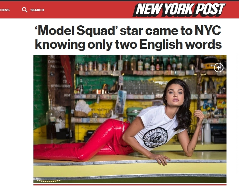 Click here to read the article: https://nypost.com/2018/09/01/model-squad-star-came-to-nyc-knowing-only-two-english-words/