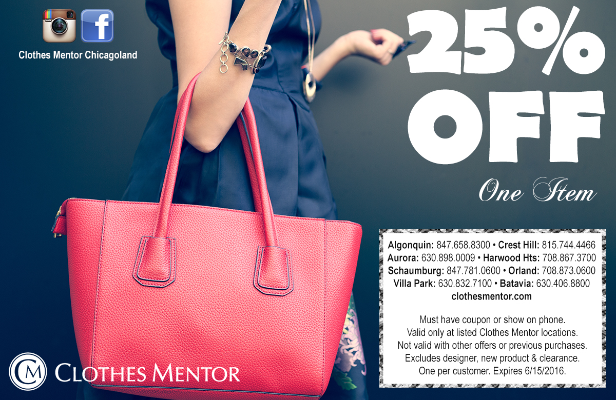 clothes mentor coupon