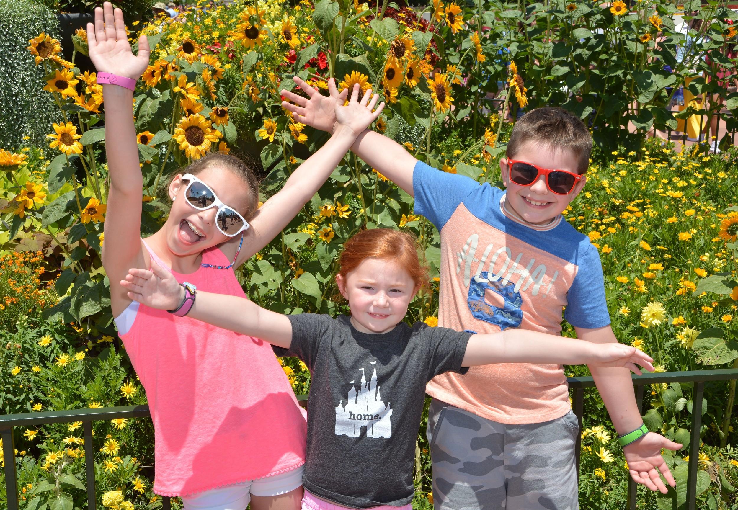Epcot with kids #disneysmmc