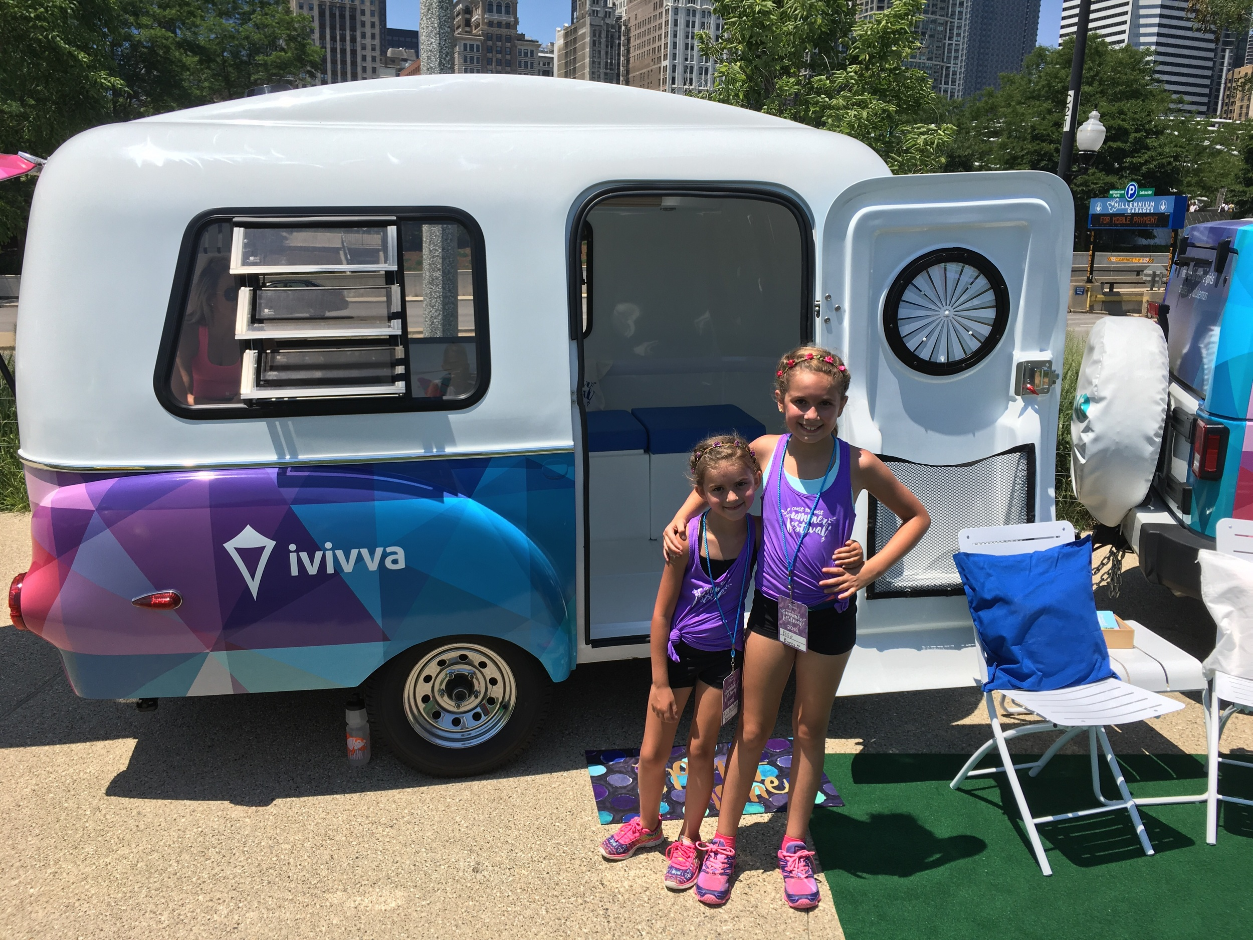 The ivivva-chile, on the road going coast to coast!