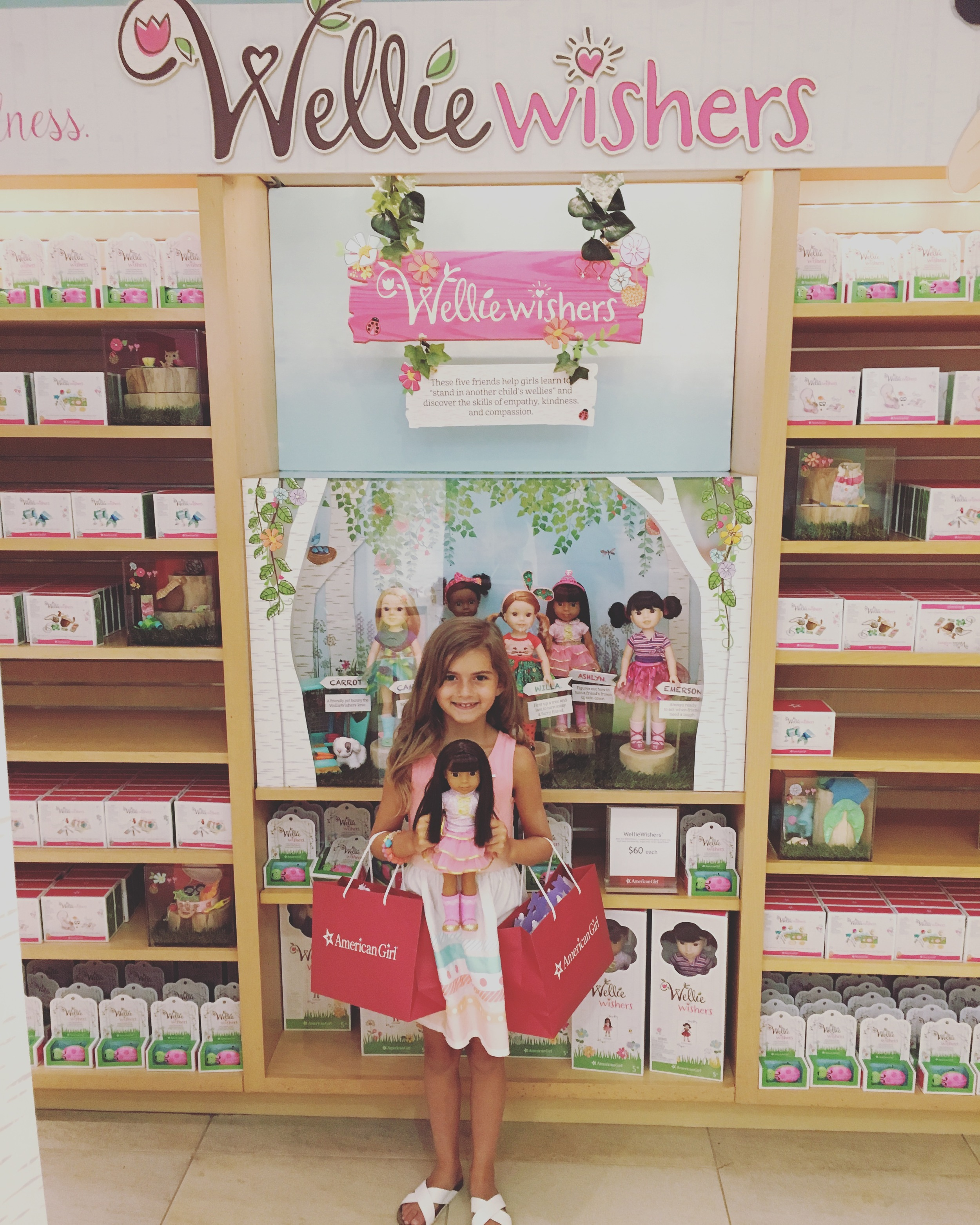 guide to American Girls' WellieWishers