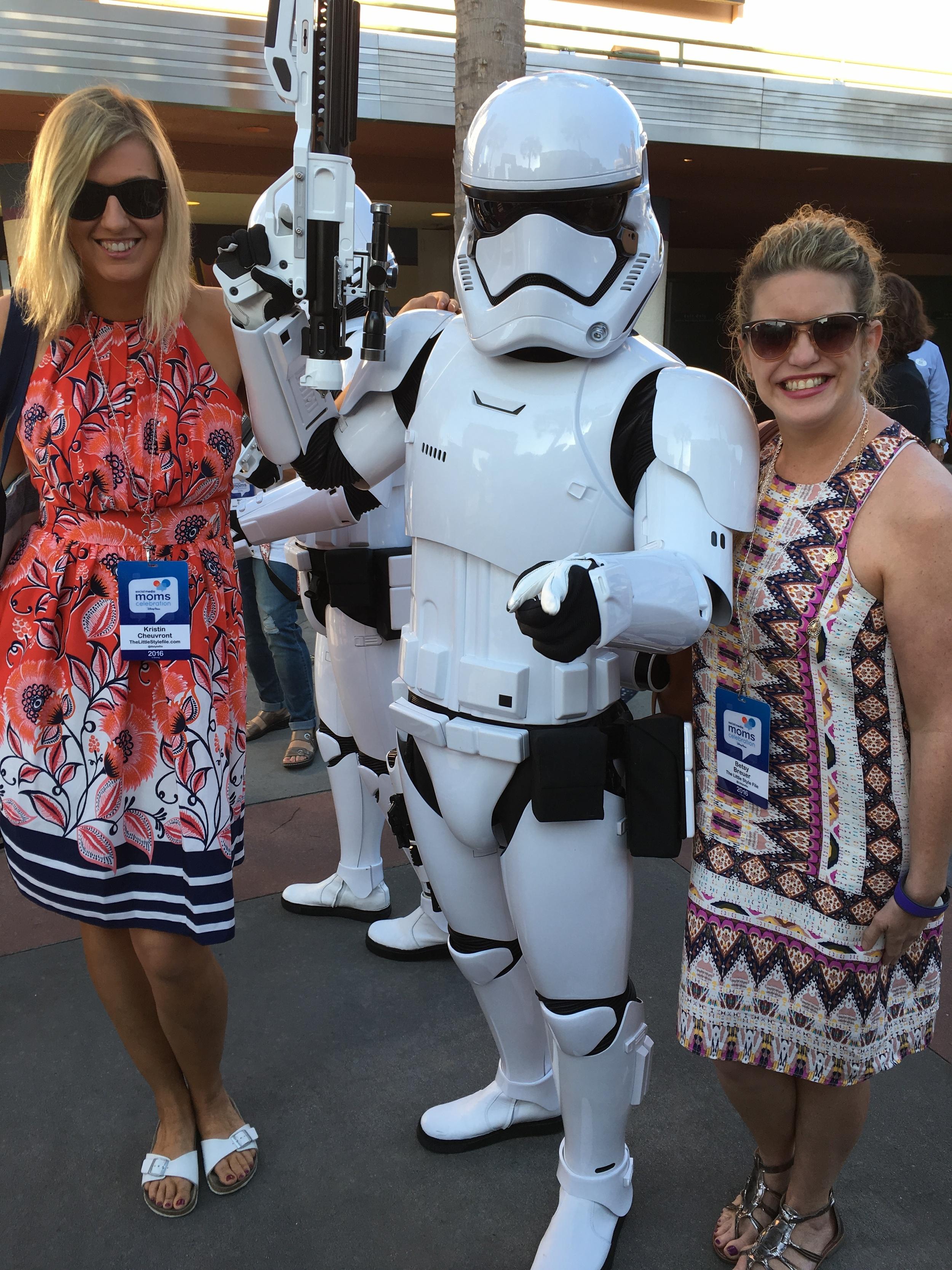 storm trooper selfie