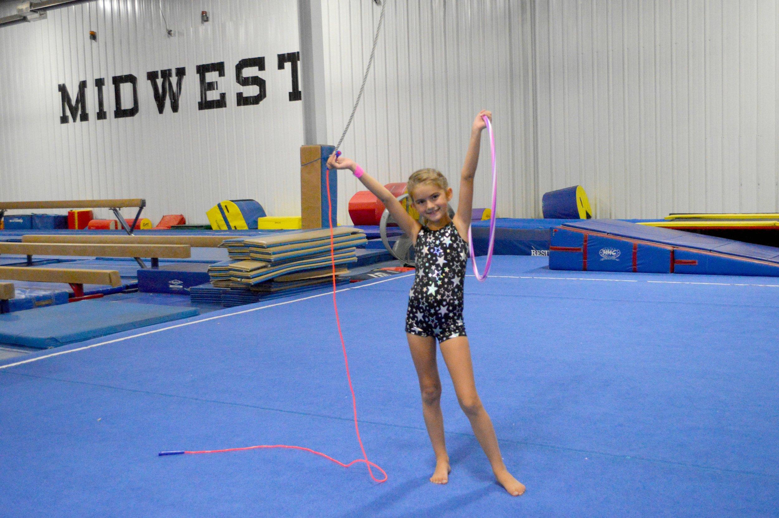 gymnastics birthday party