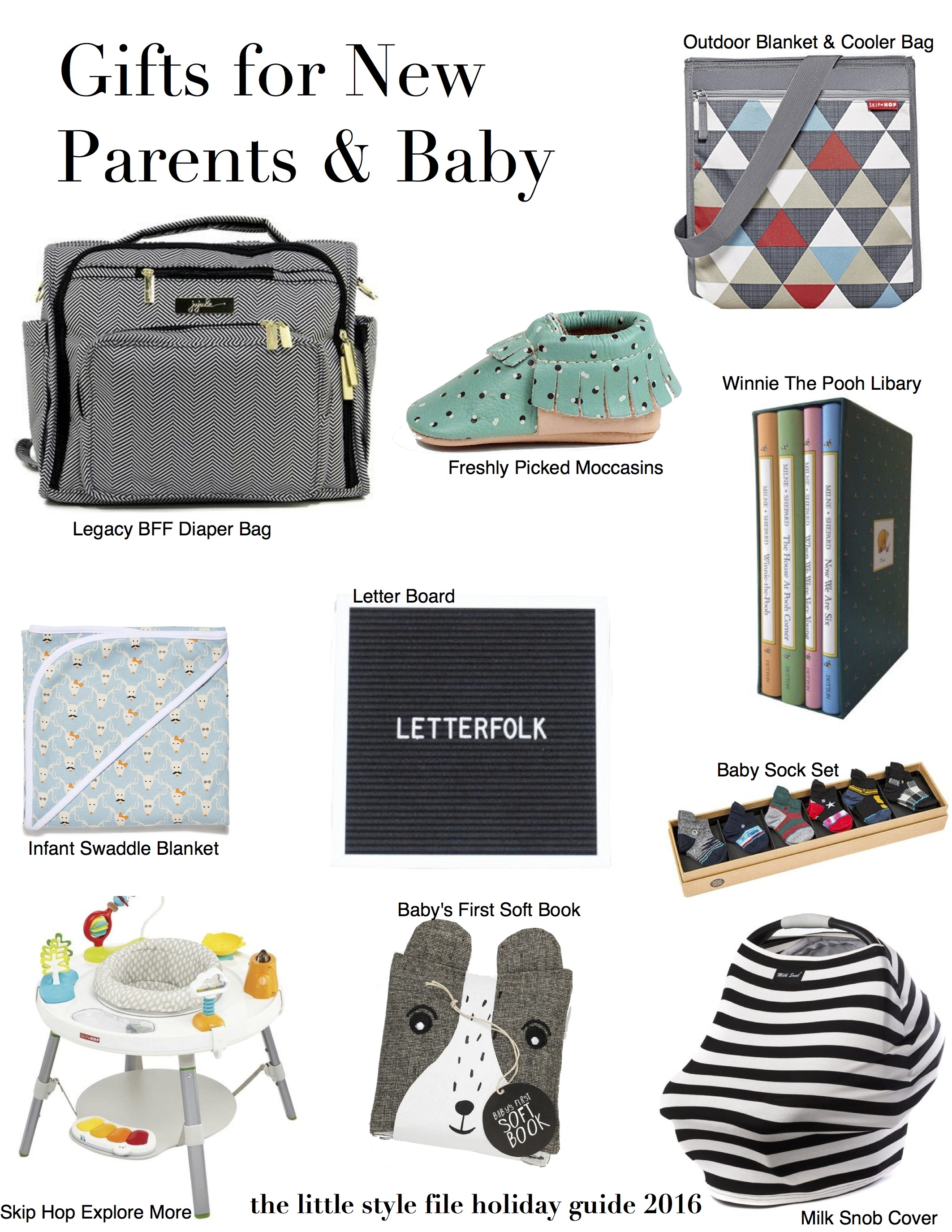 Holiday Gift Guide Gifts for Baby