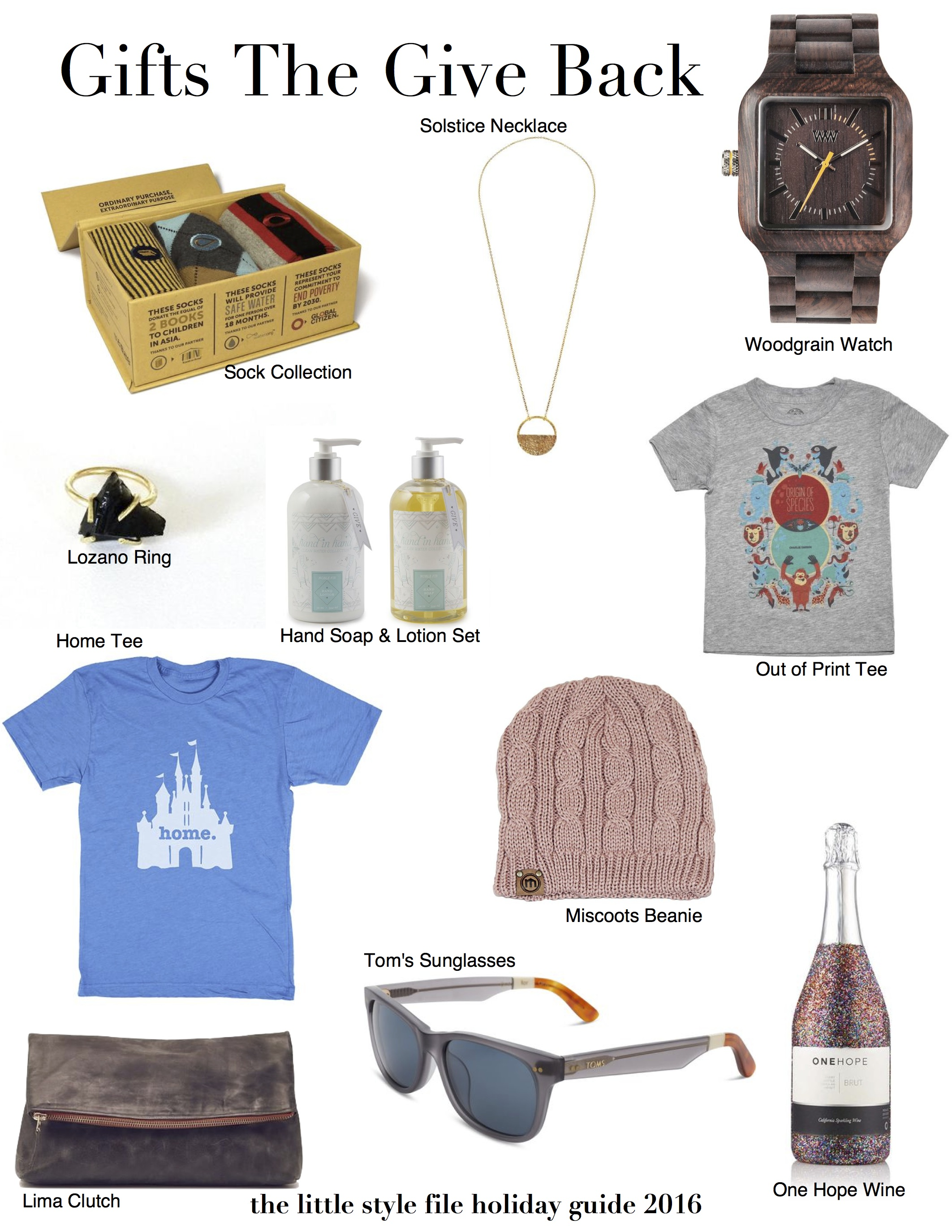 Holiday Gift Guide Gifts That Give Back