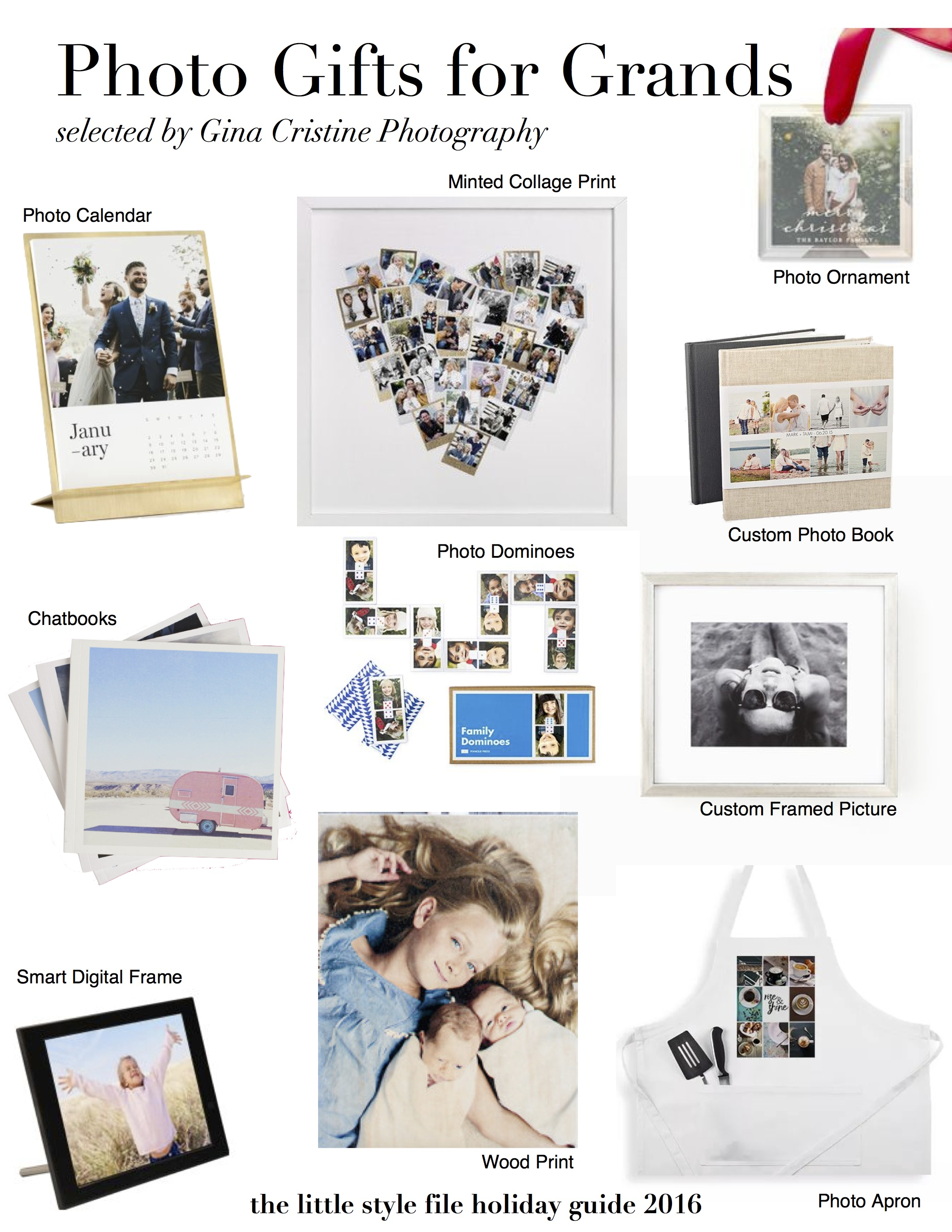 Photo Gifts for Grandparents