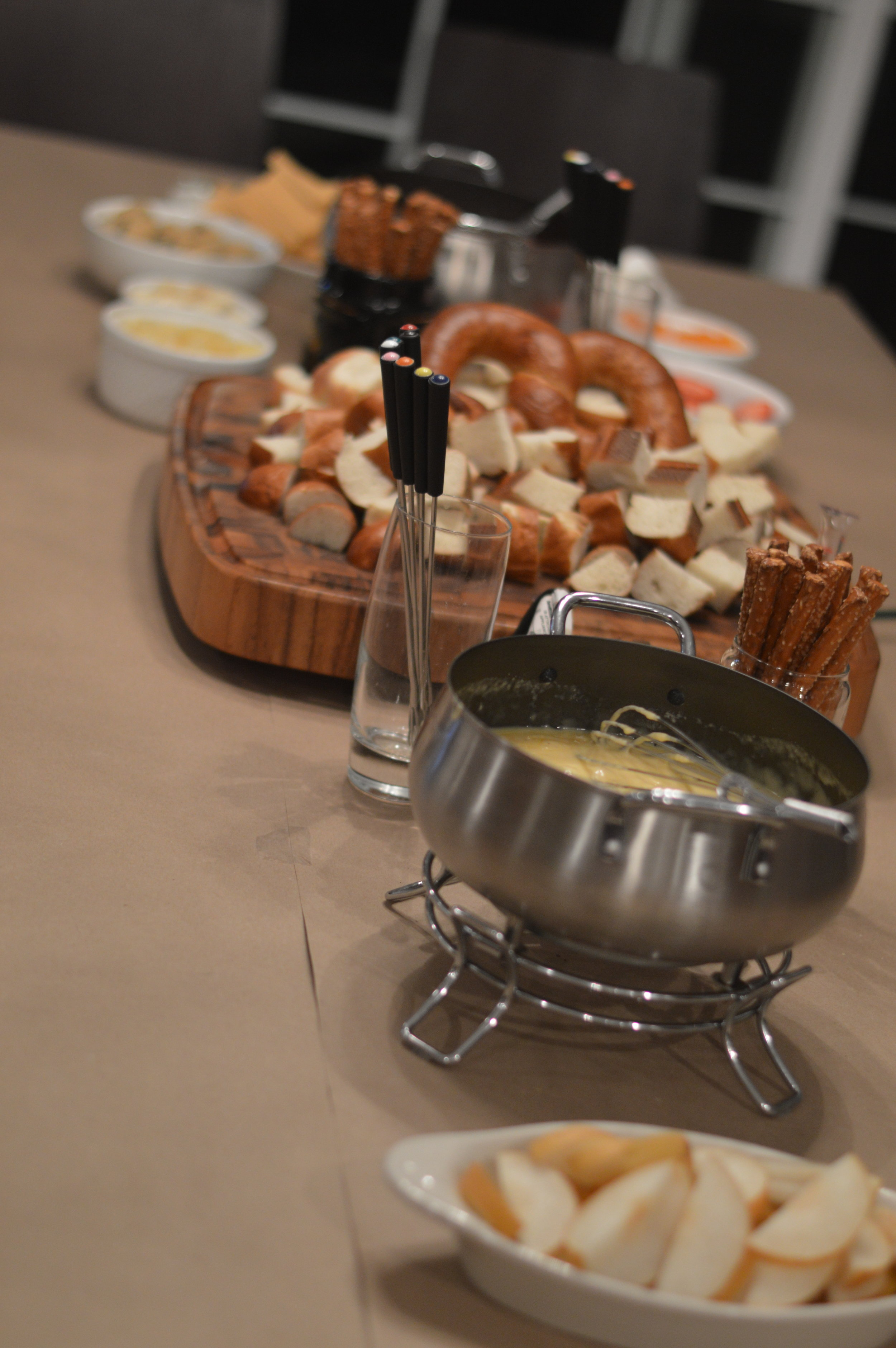 fondue party with kids