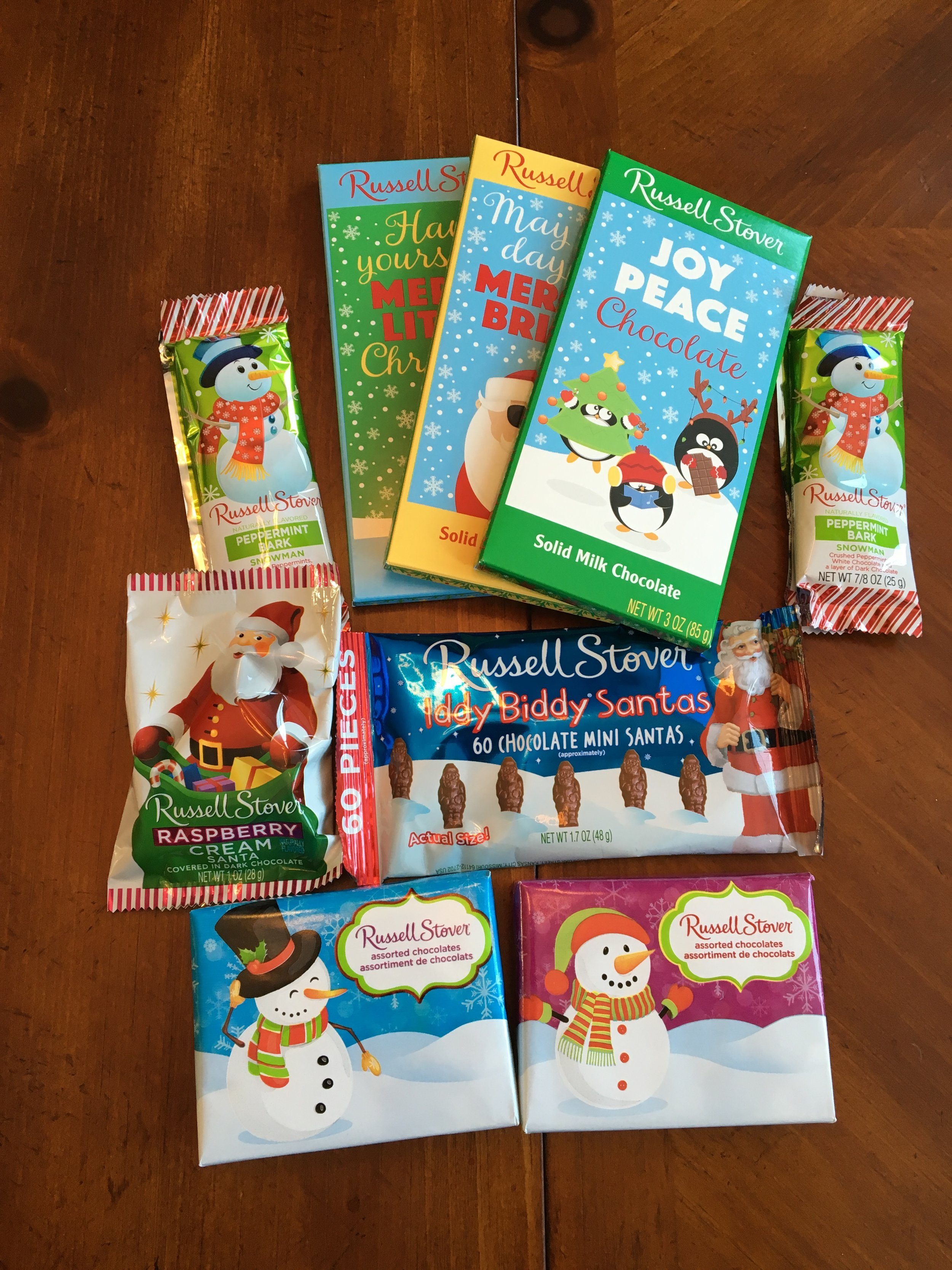 Russell Stover's Holiday Chocolates