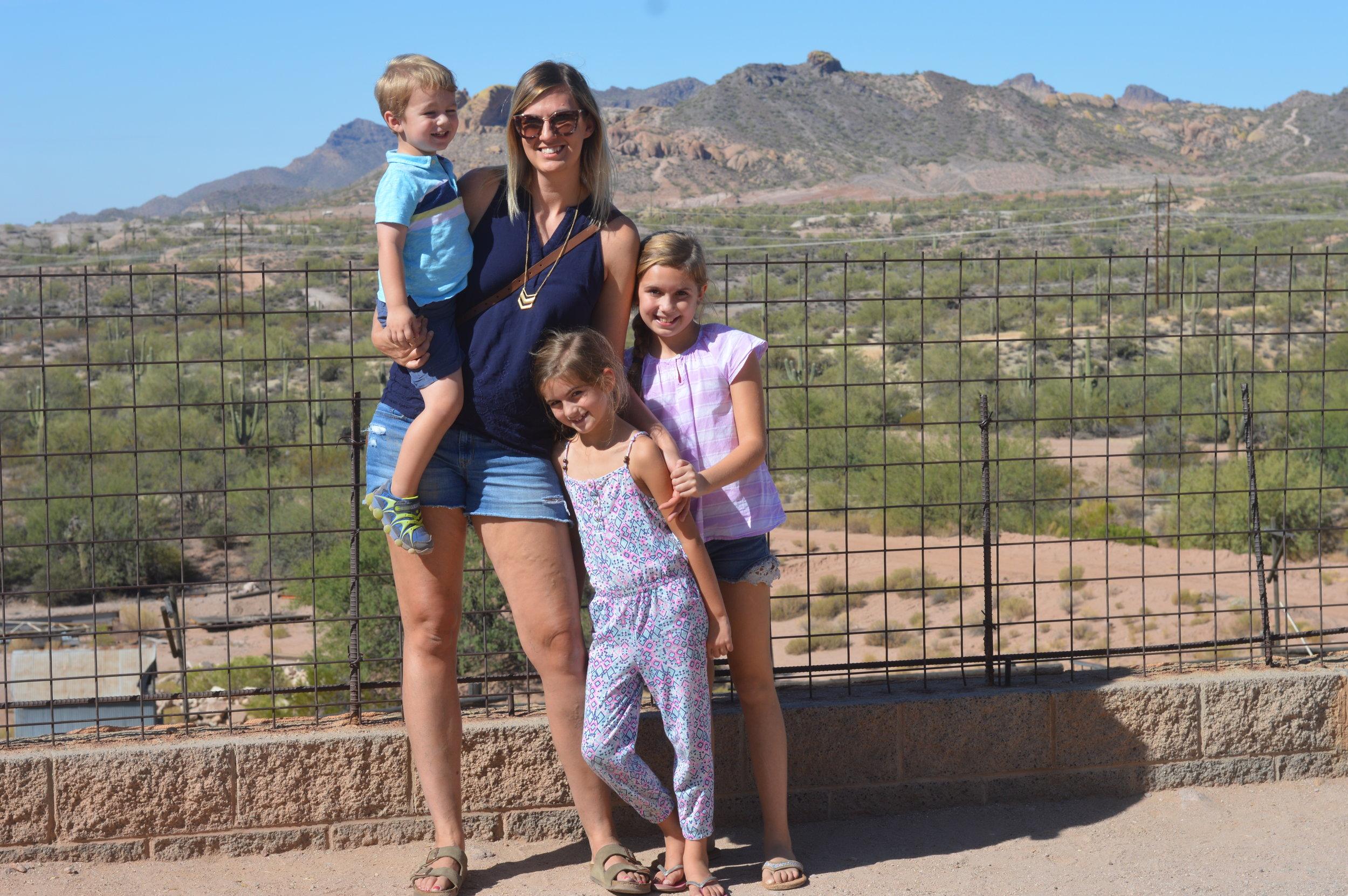 family travel arizona