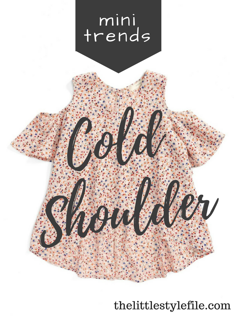 cold shoulder shirts for girls