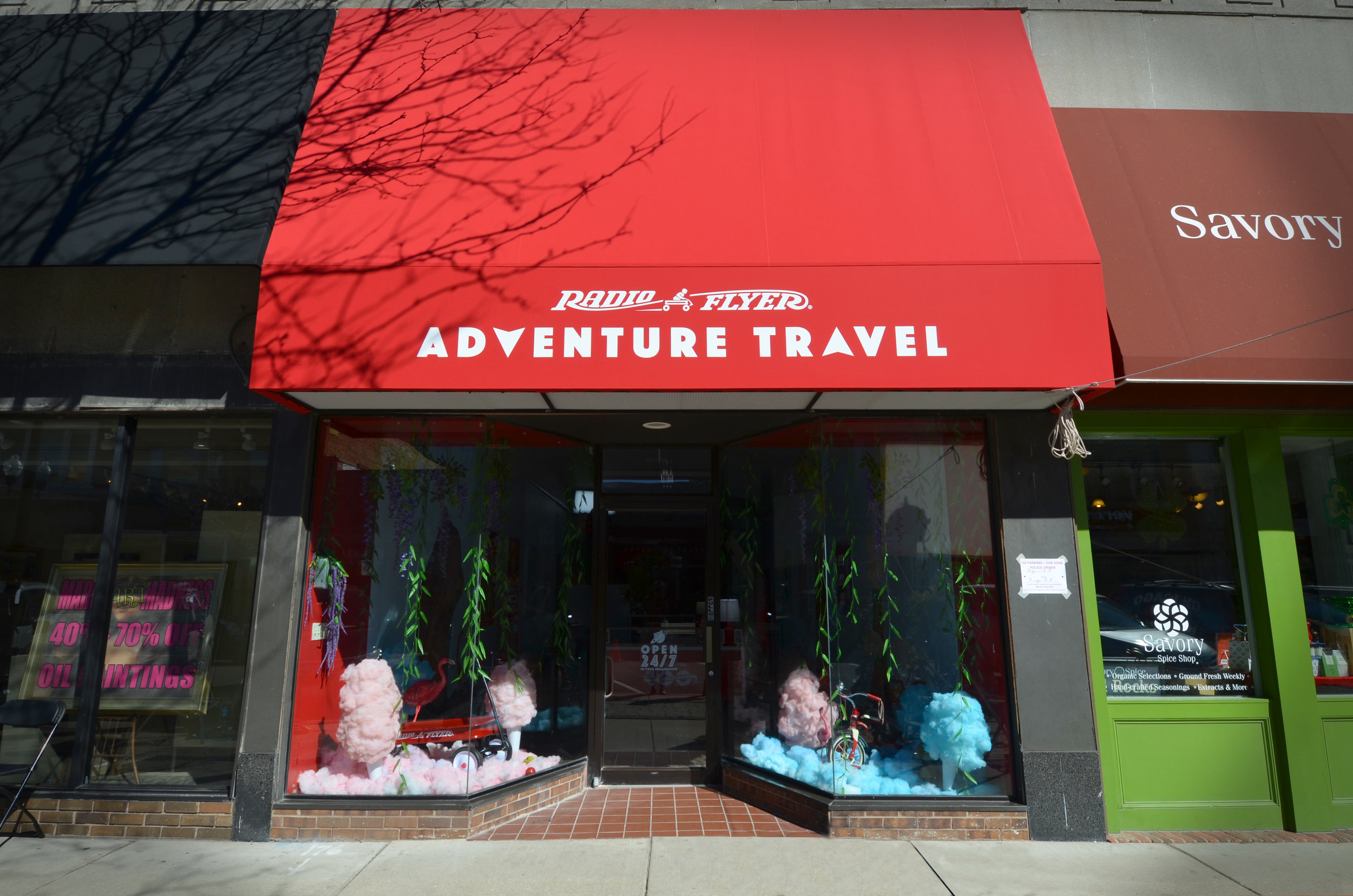 adventure travel by radio flyer