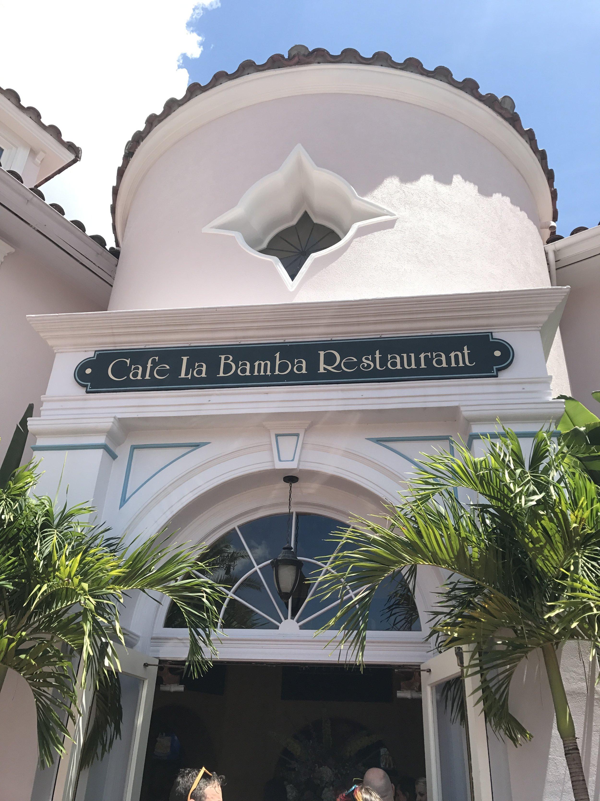 lunch at Universal Orlando Resort