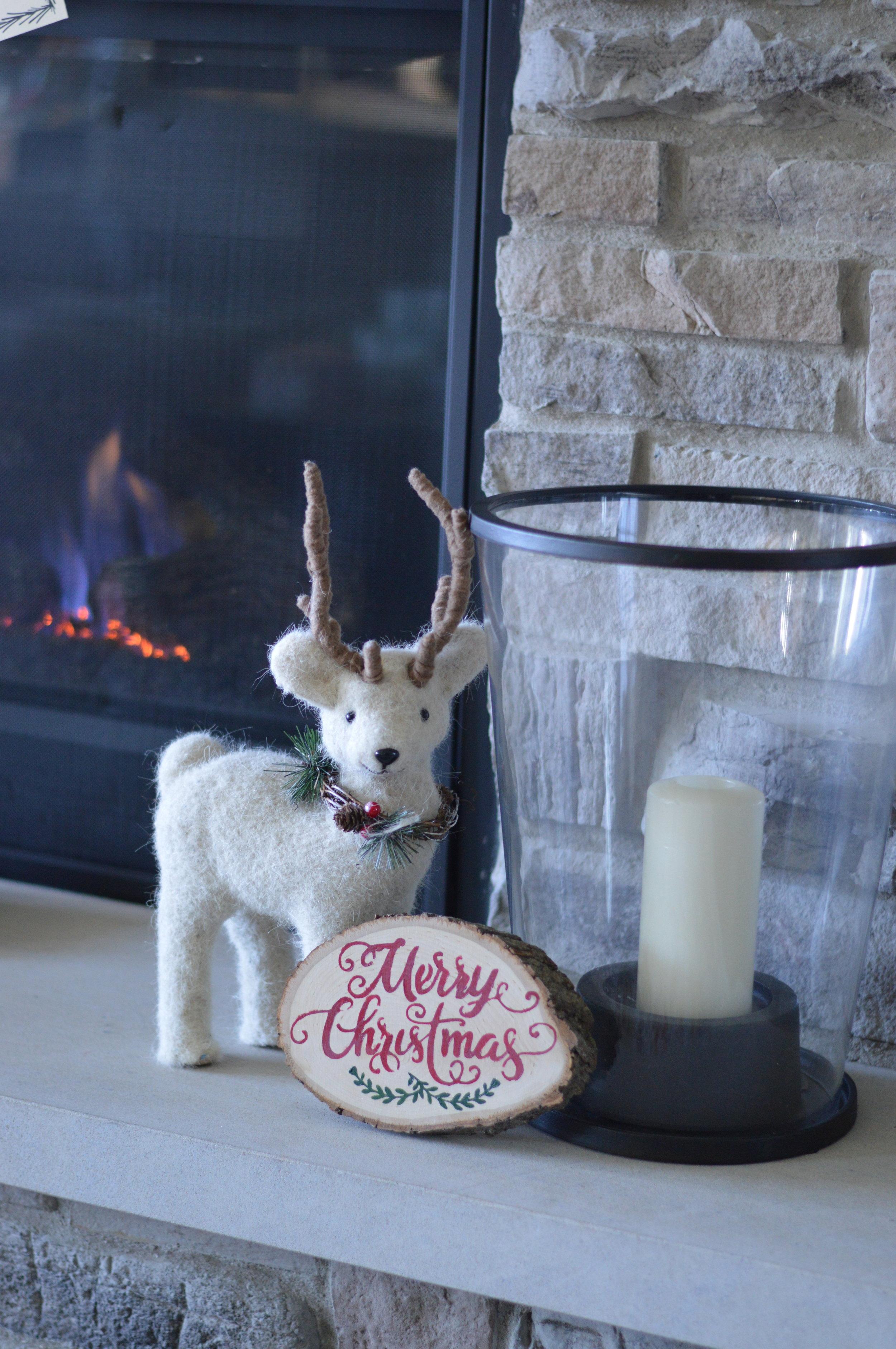 rustic Christmas DIY decor